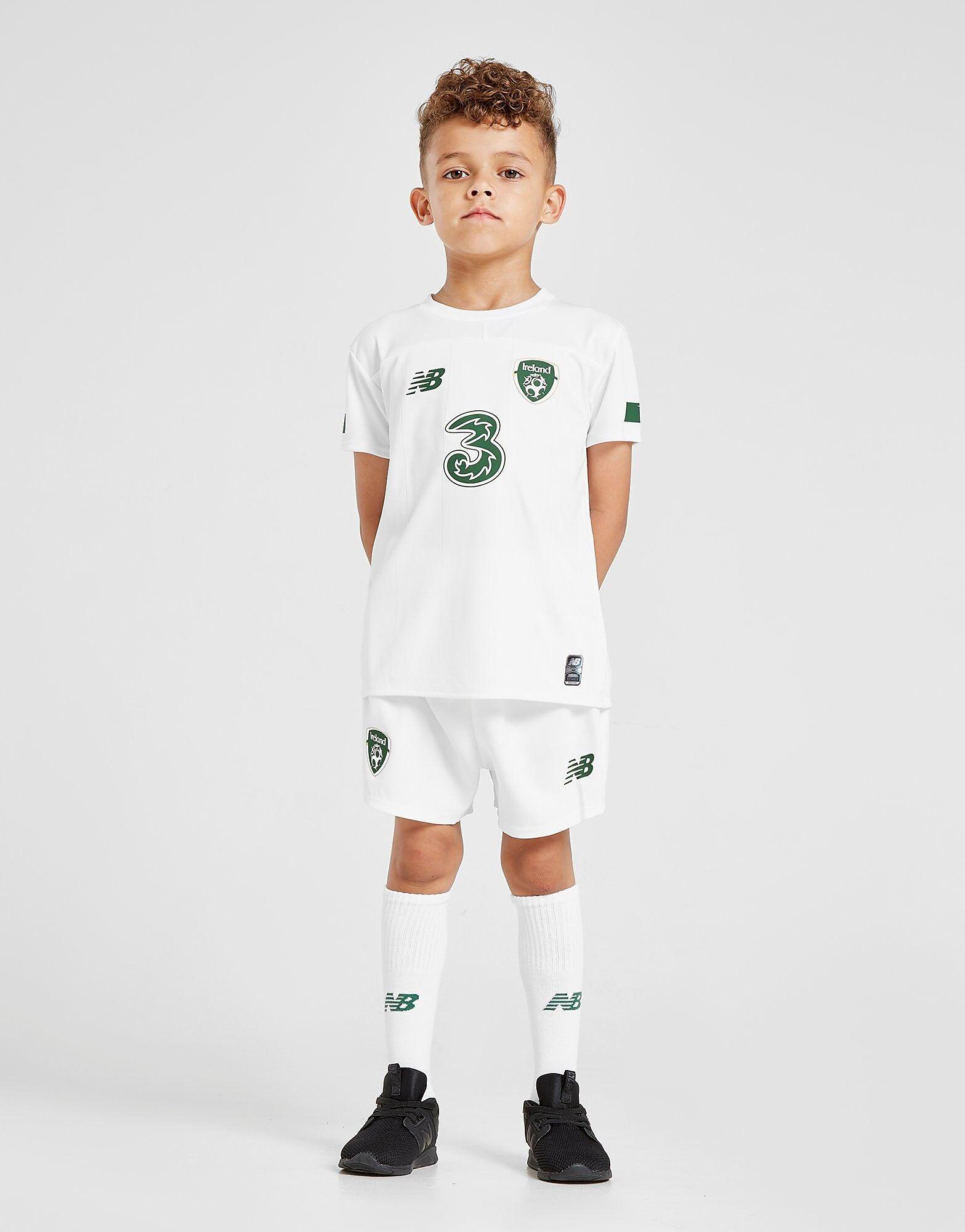 Image of New Balance Republic of Ireland 2019/20 Away Kit Children - Kids, Valkoinen