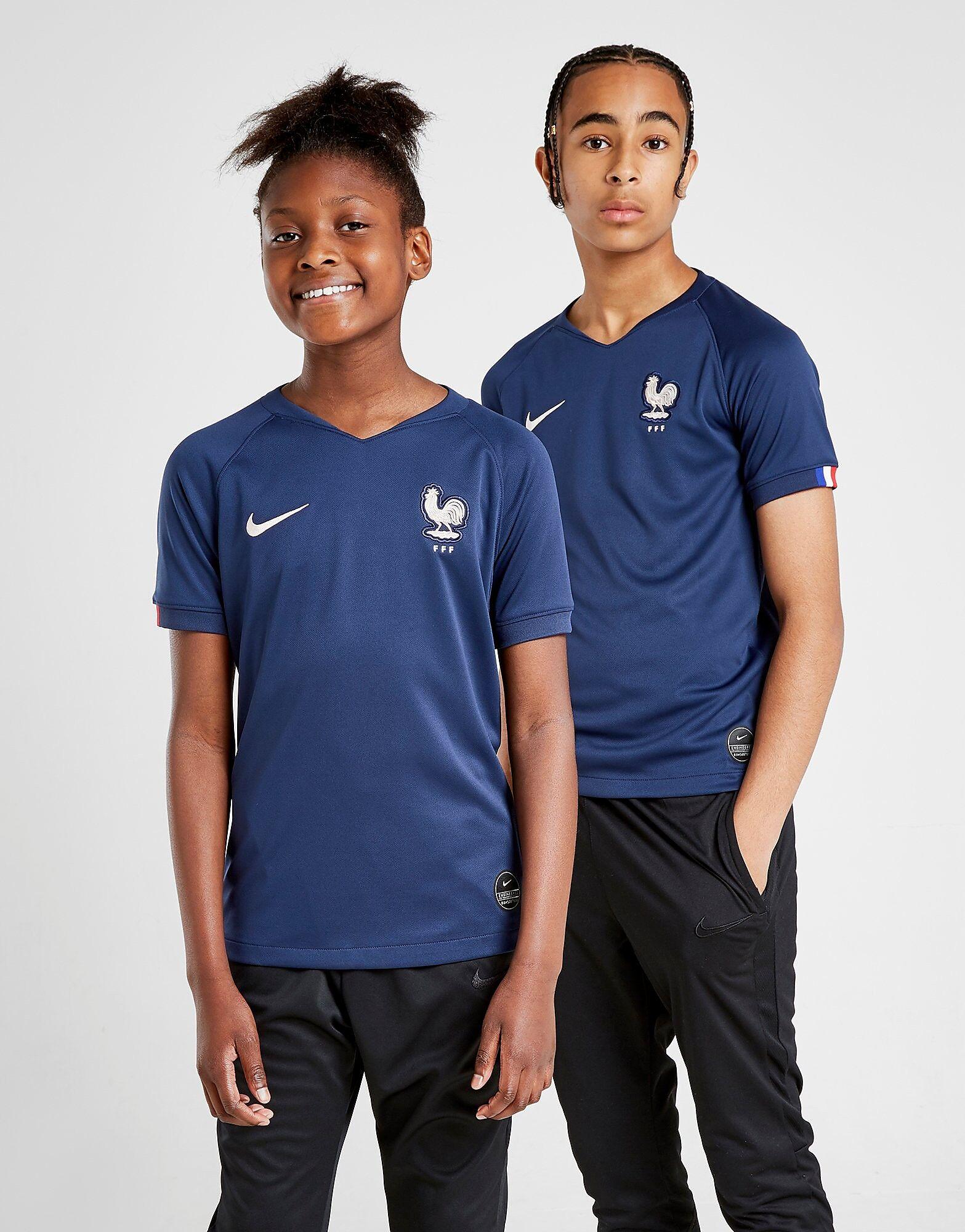 Image of Nike Ranska 2019 Kotipaita Juniorit - Kids, Sininen