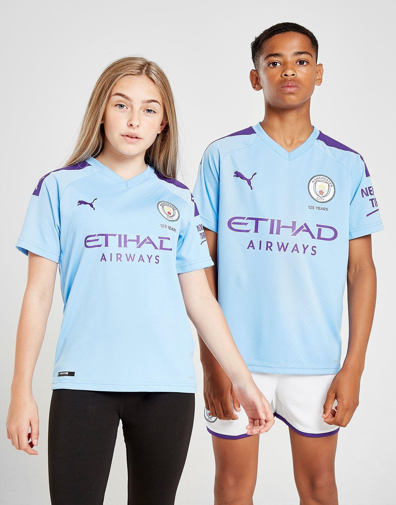 Image of Puma Manchester City FC 2019/20 Kotipaita Juniorit - Kids, Sininen