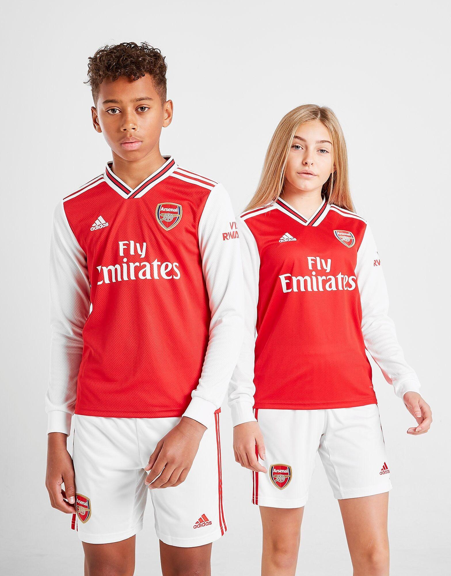 Image of Adidas Arsenal 2019/20 Pitkähihainen Kotipaita Juniorit - Kids, Punainen