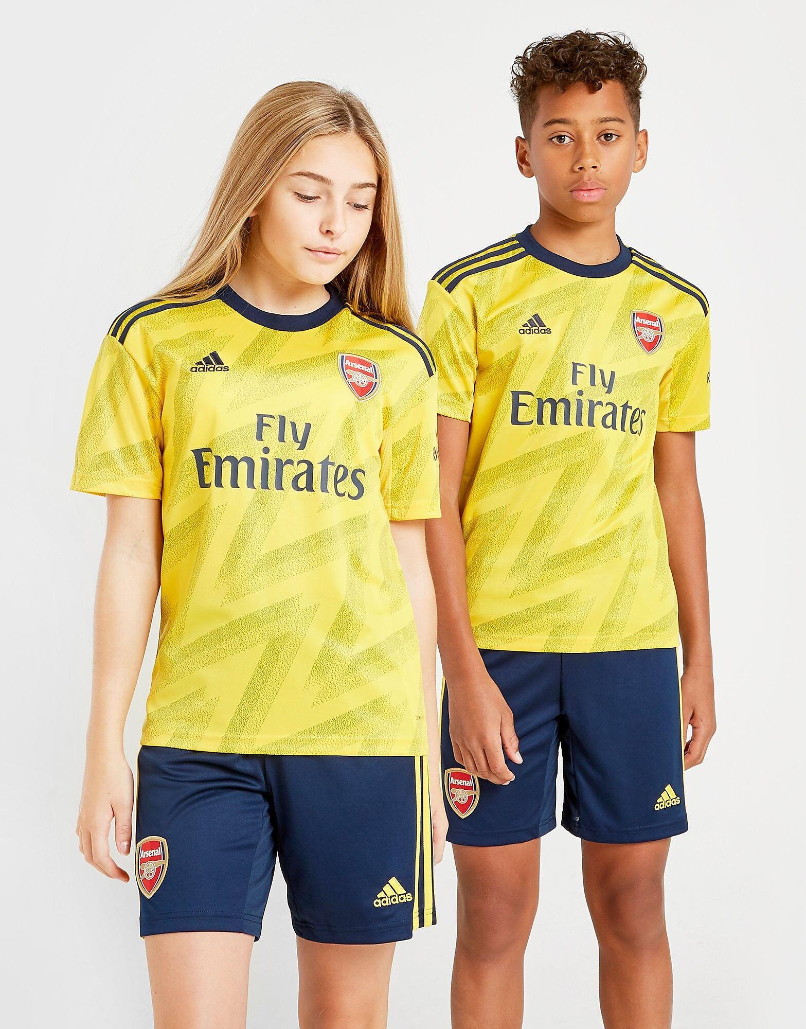 Image of Adidas Arsenal FC 2019/20 Vieraspaita Juniorit - Kids, Keltainen