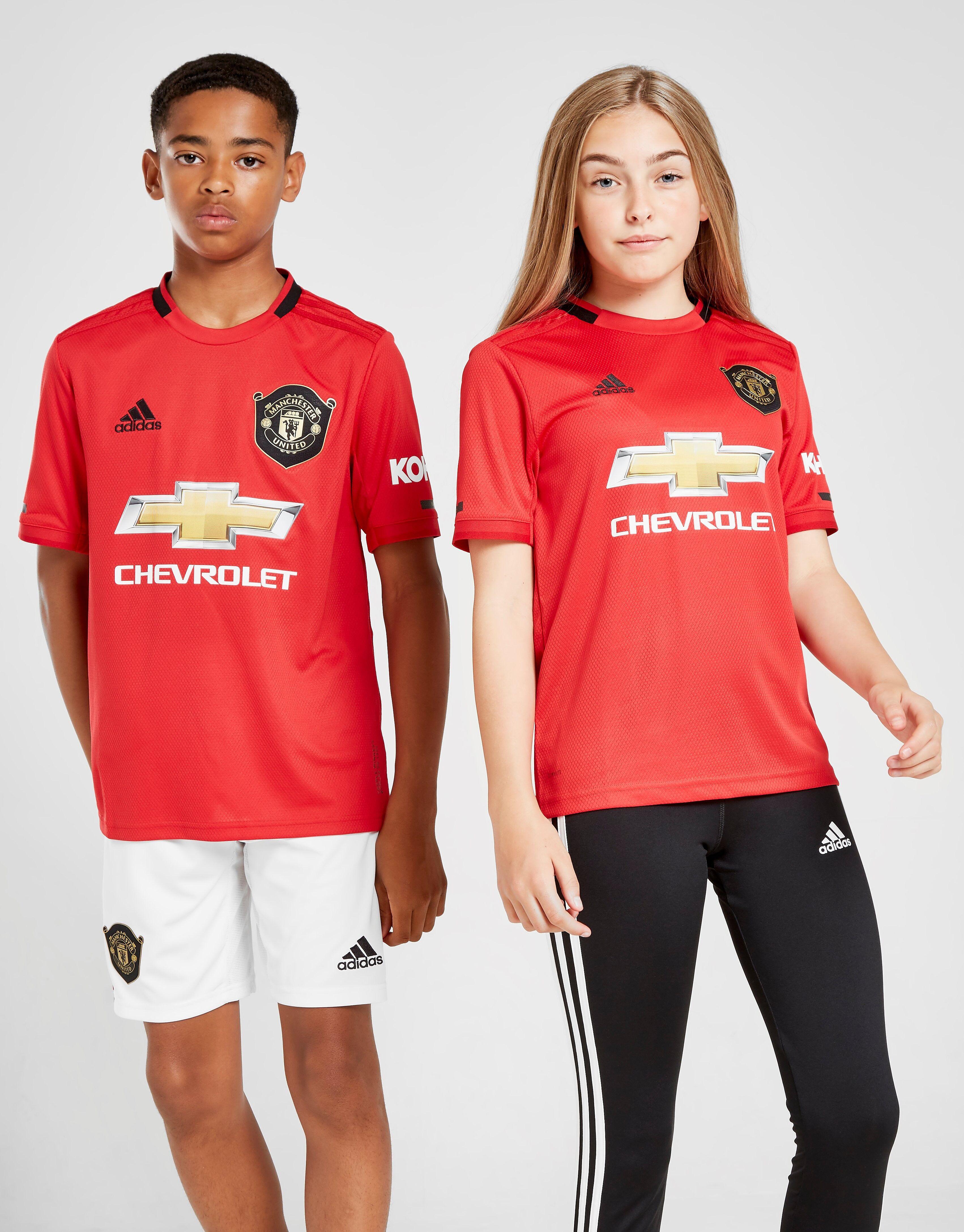Image of Adidas ?Manchester United FC 19/20 Kotipaita Juniorit - Kids, Punainen