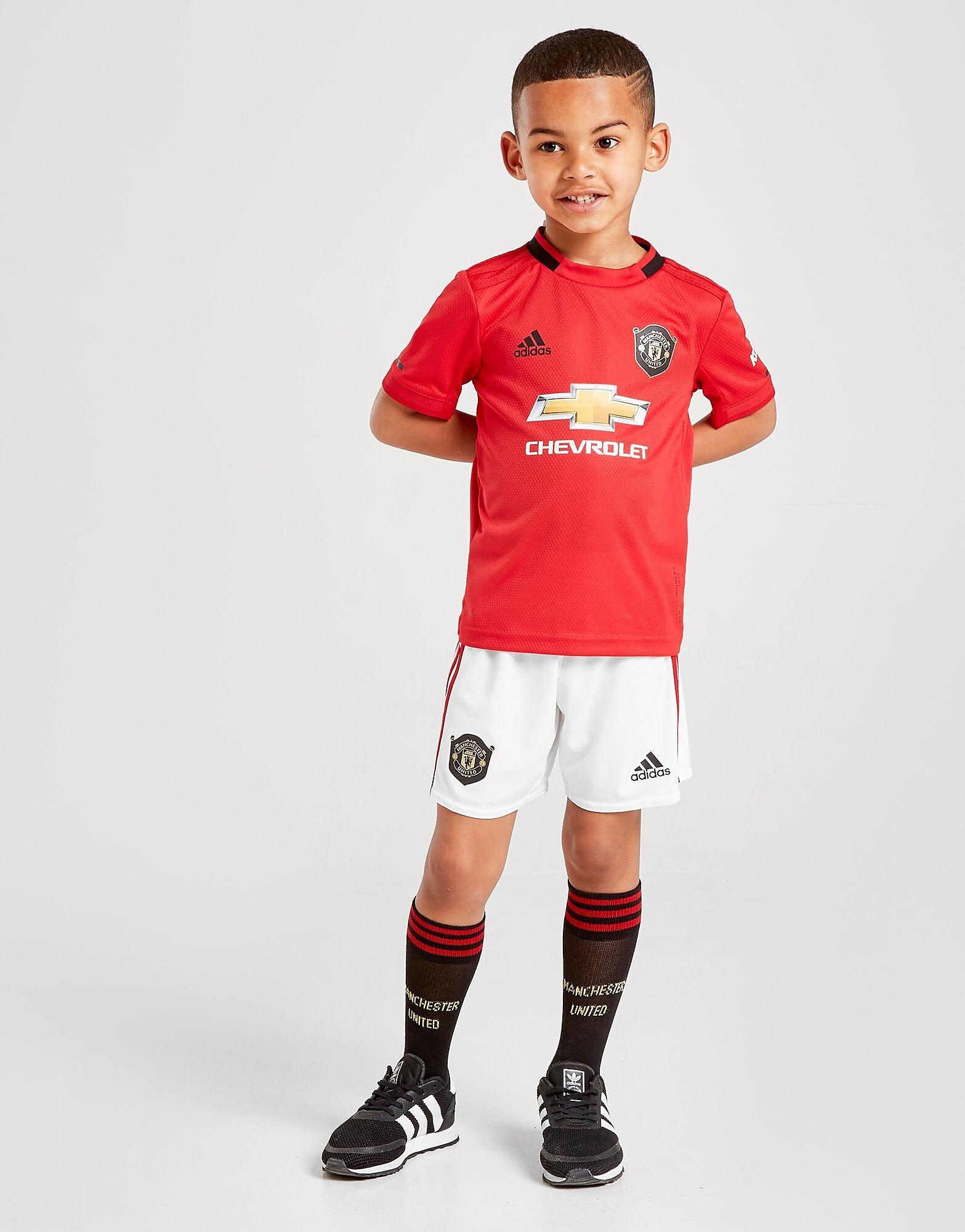 Image of Adidas Manchester United 19/20 Kotisetti Lapset - Kids, Punainen