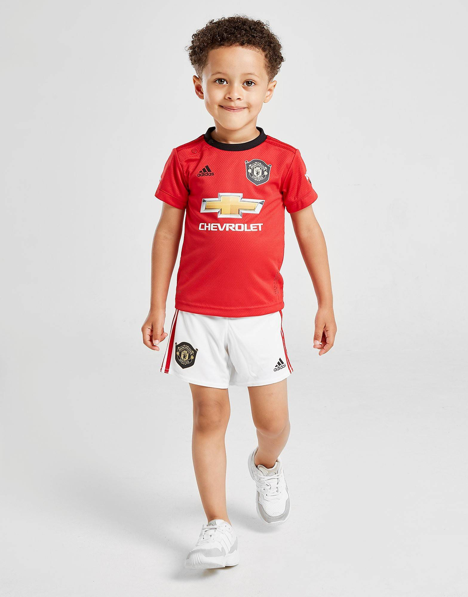Image of Adidas Manchester United 19/20 Home Kit Infant - Kids, Punainen