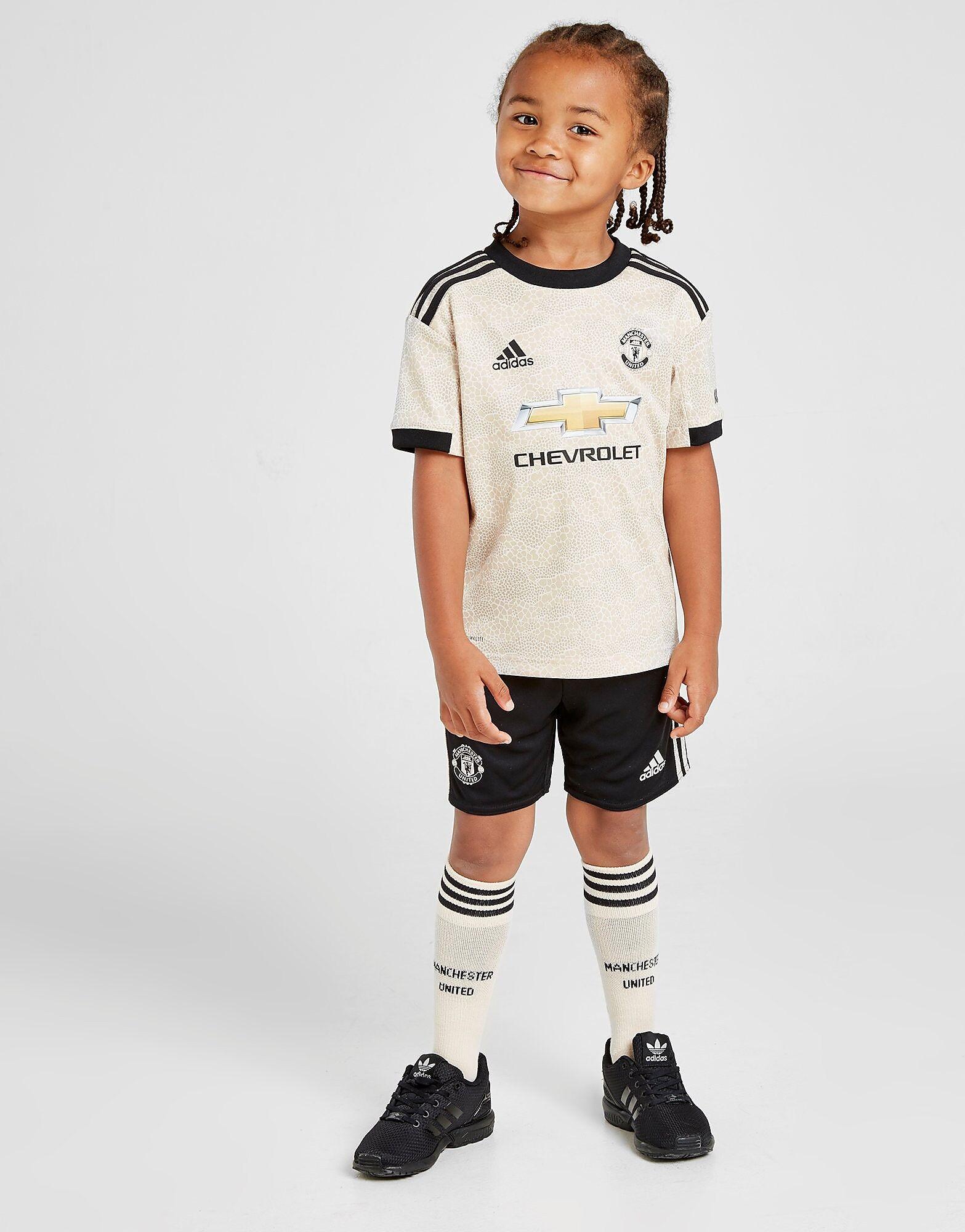 Image of Adidas Manchester United FC 2019/20 Vierassetti Lapset - Kids, Ruskea