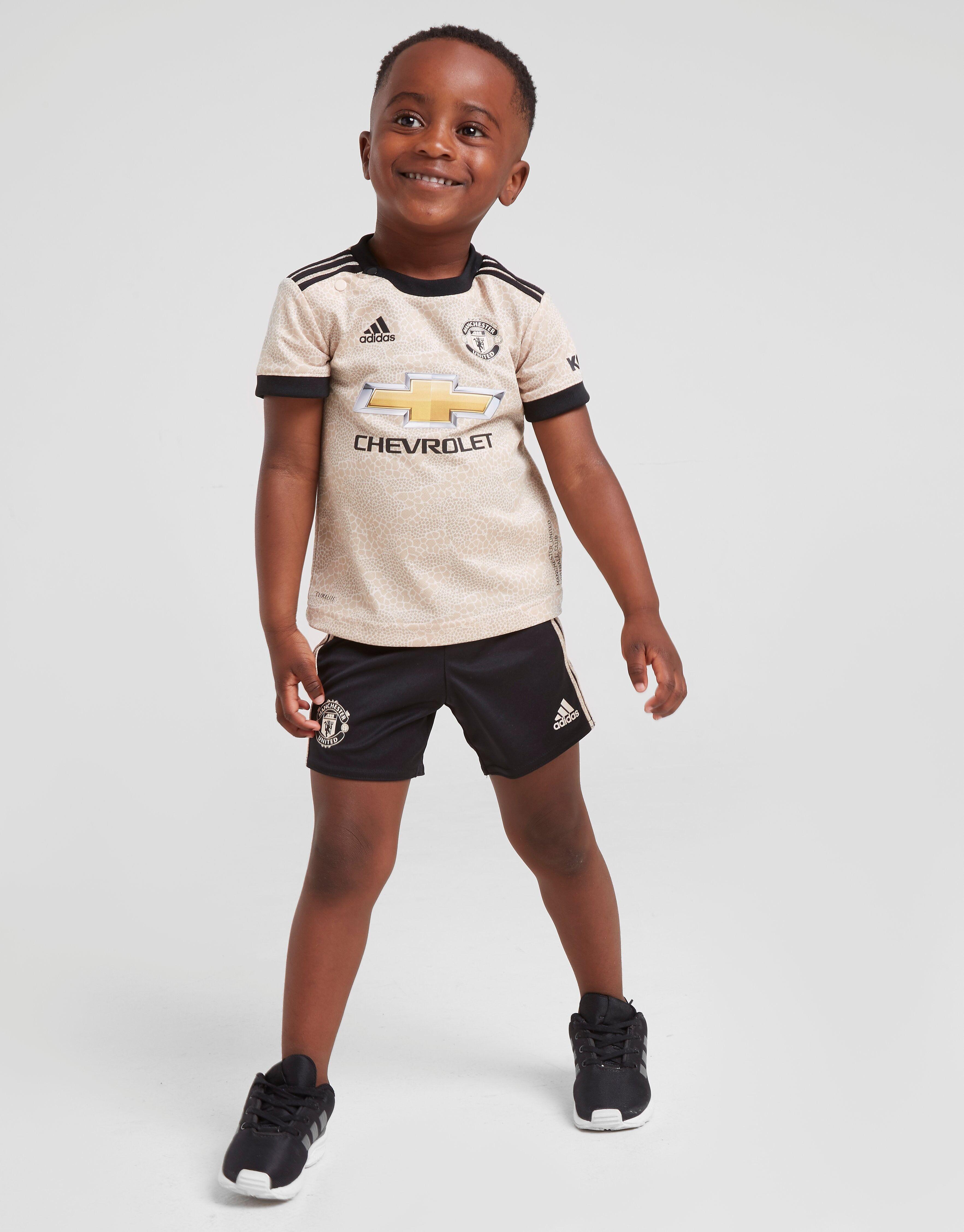 Image of Adidas Manchester United FC 2019/20 Vierassetti Vauvat - Kids, Ruskea