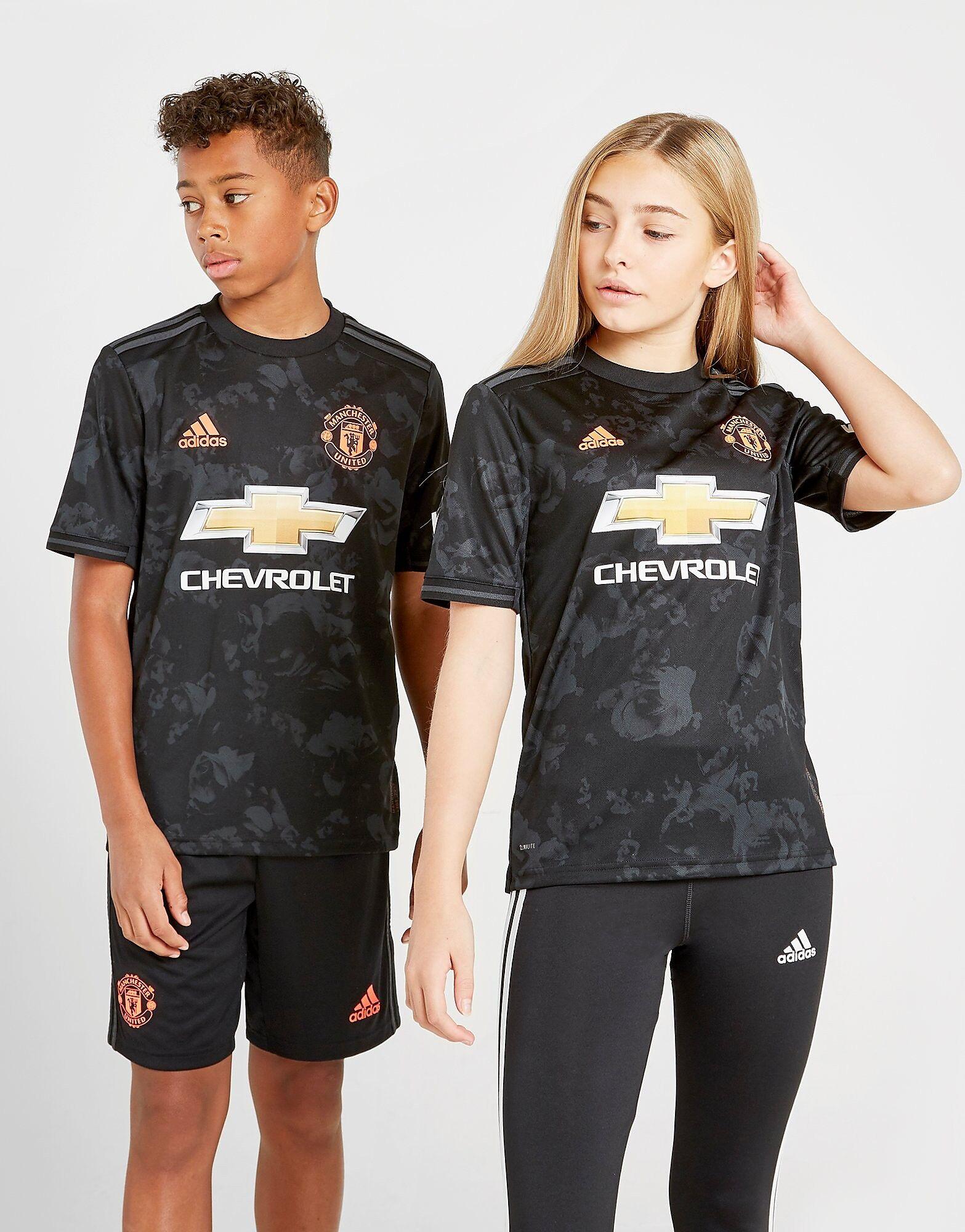 Image of Adidas Manchester United FC 2019/20 Kolmas Paita Juniorit - Kids, Musta