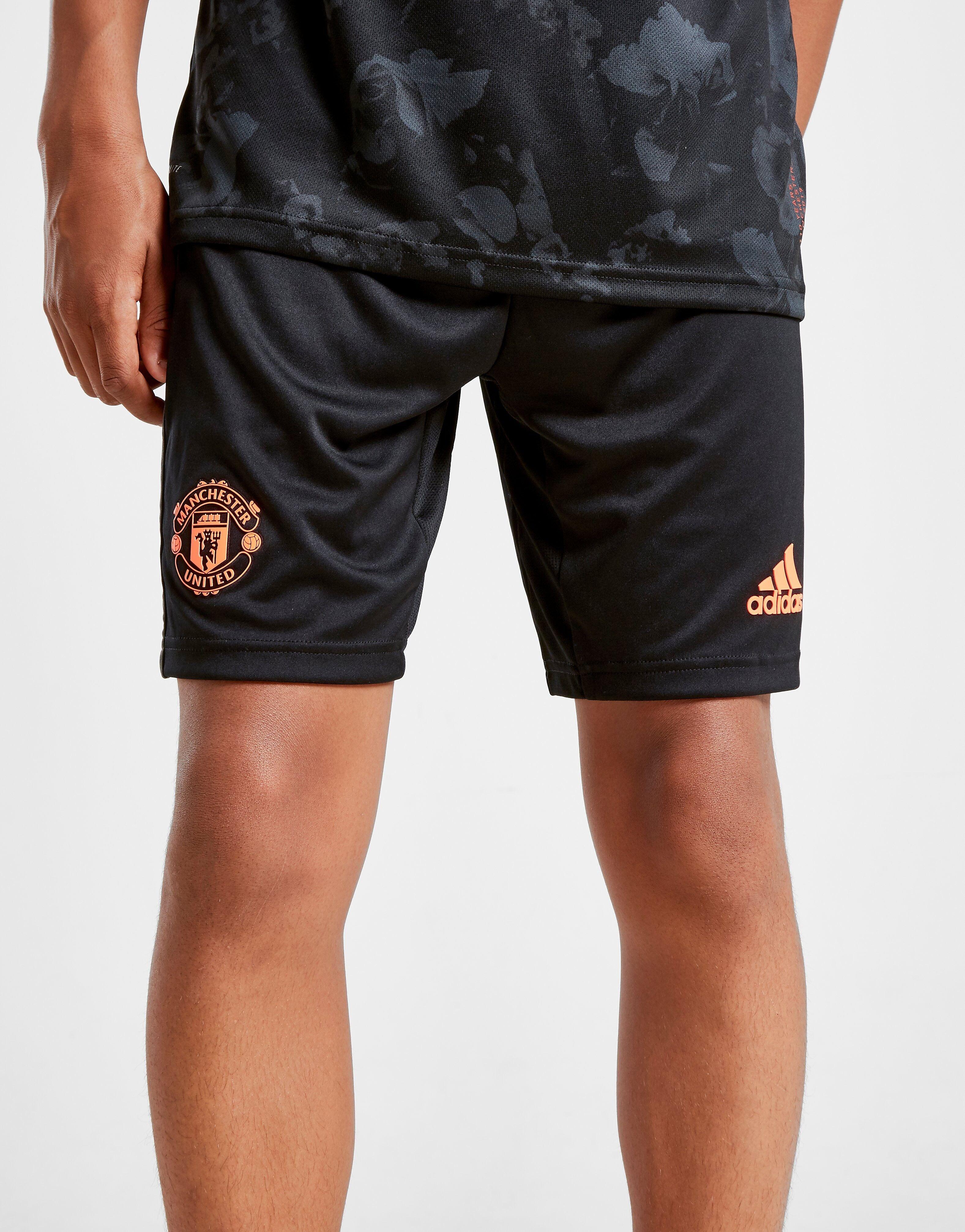 Image of Adidas Manchester United FC 2019/20 Kolmannet Shortsit Juniorit - Kids, Musta