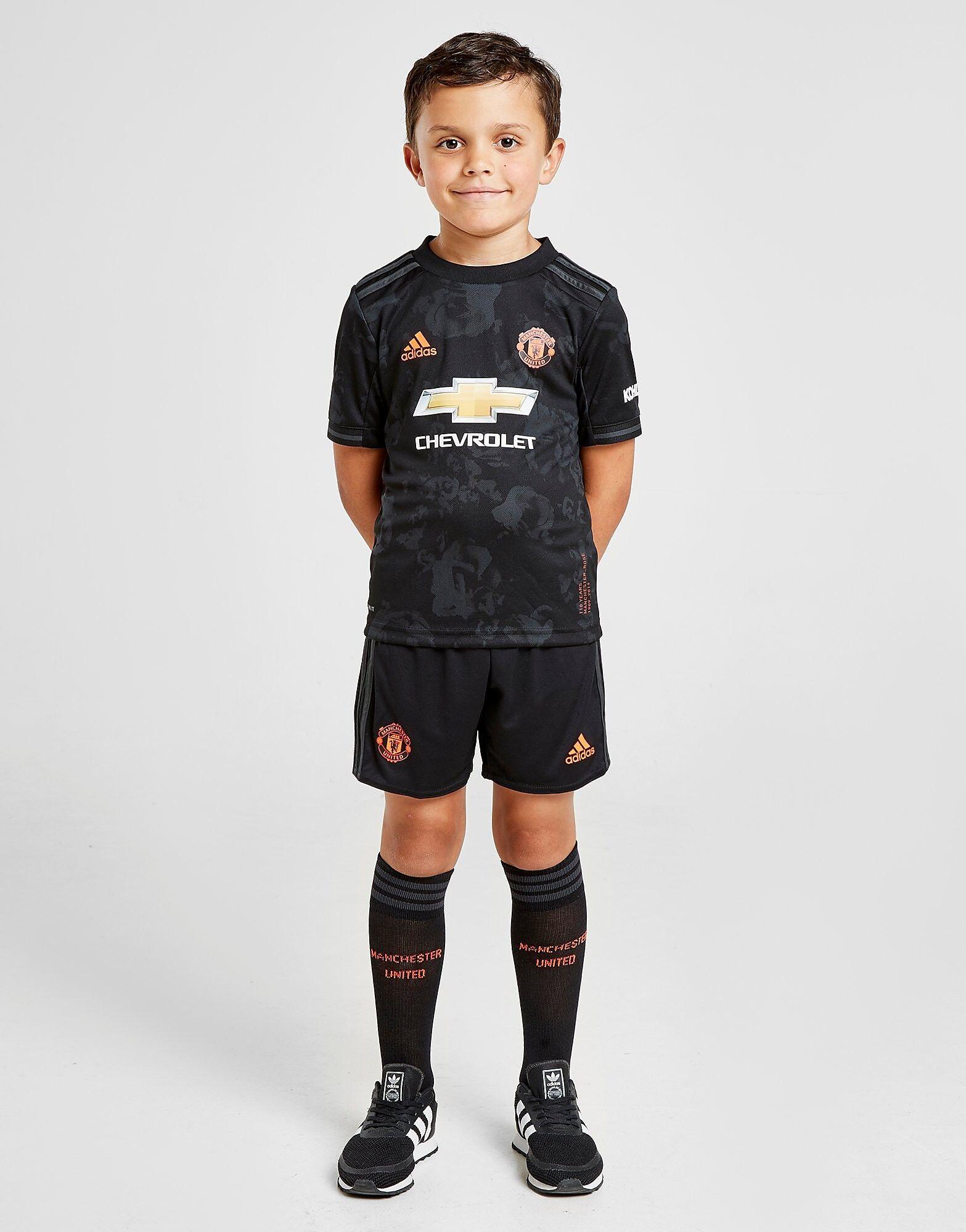 Image of Adidas Manchester United FC 2019/20 Kolmas Setti Lapset - Kids, Musta