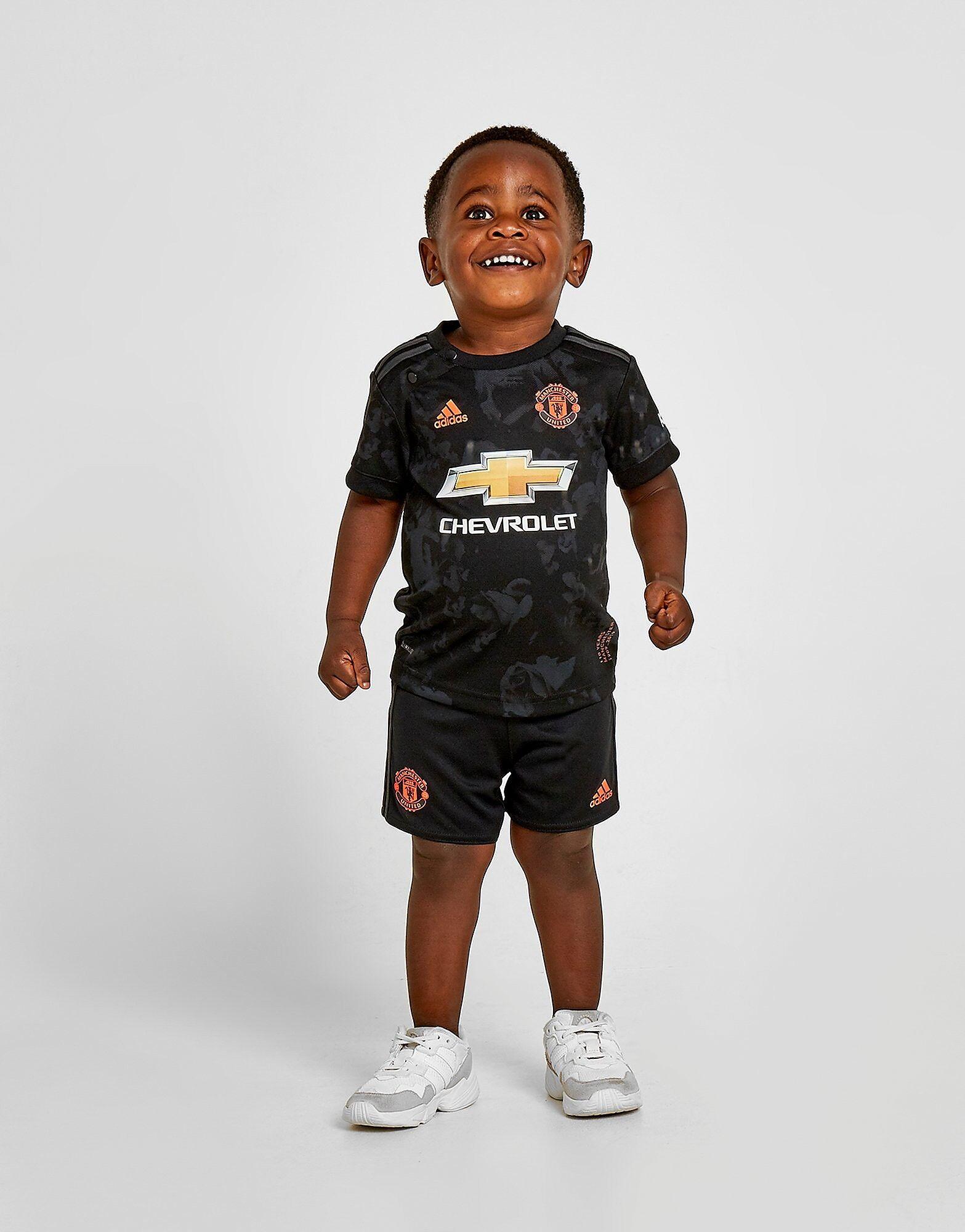 Image of Adidas Manchester United FC 2019/20 Kolmas Setti Vauvat - Kids, Musta