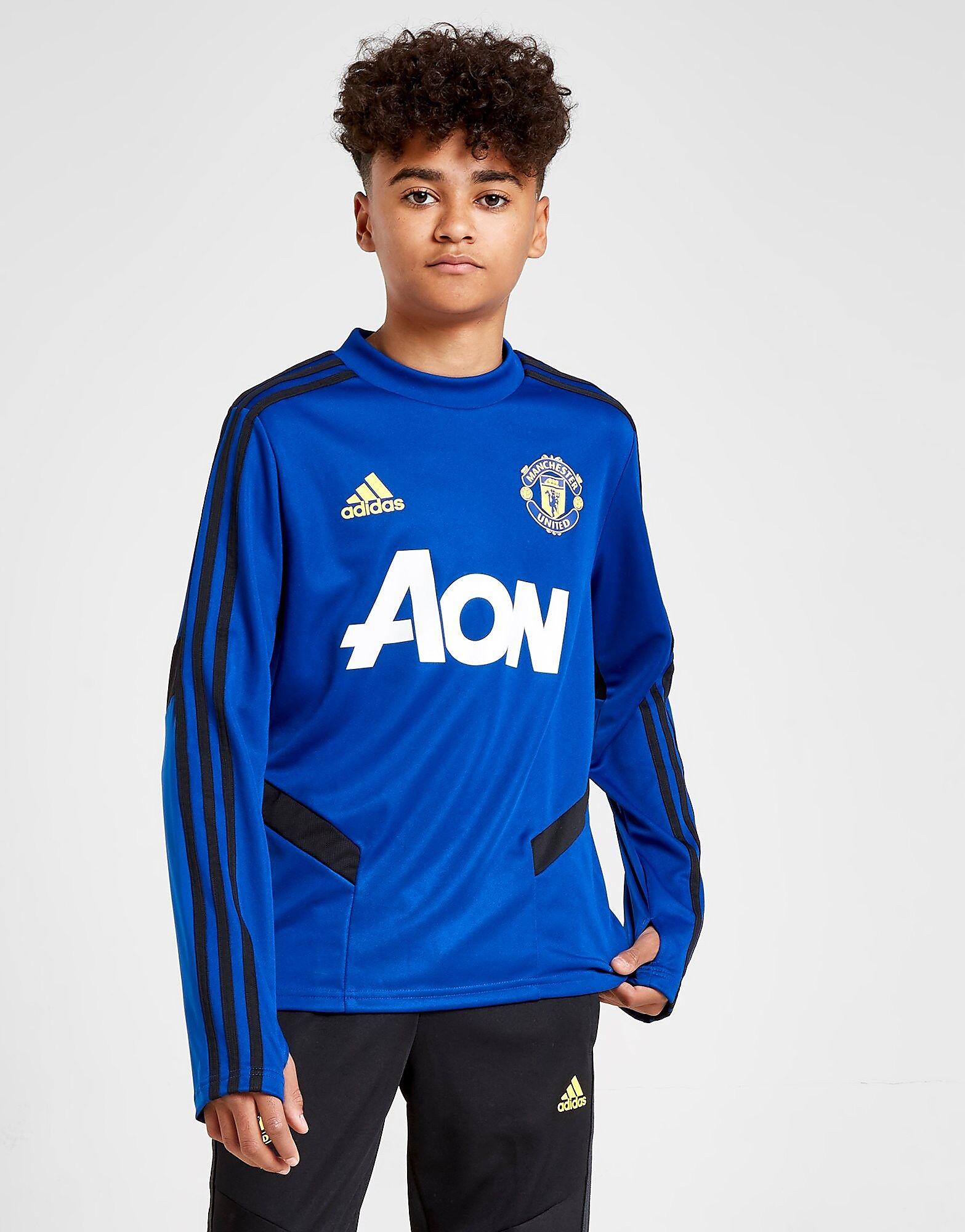 Image of Adidas Manchester United FC Treenipaita Juniorit - Kids, Sininen