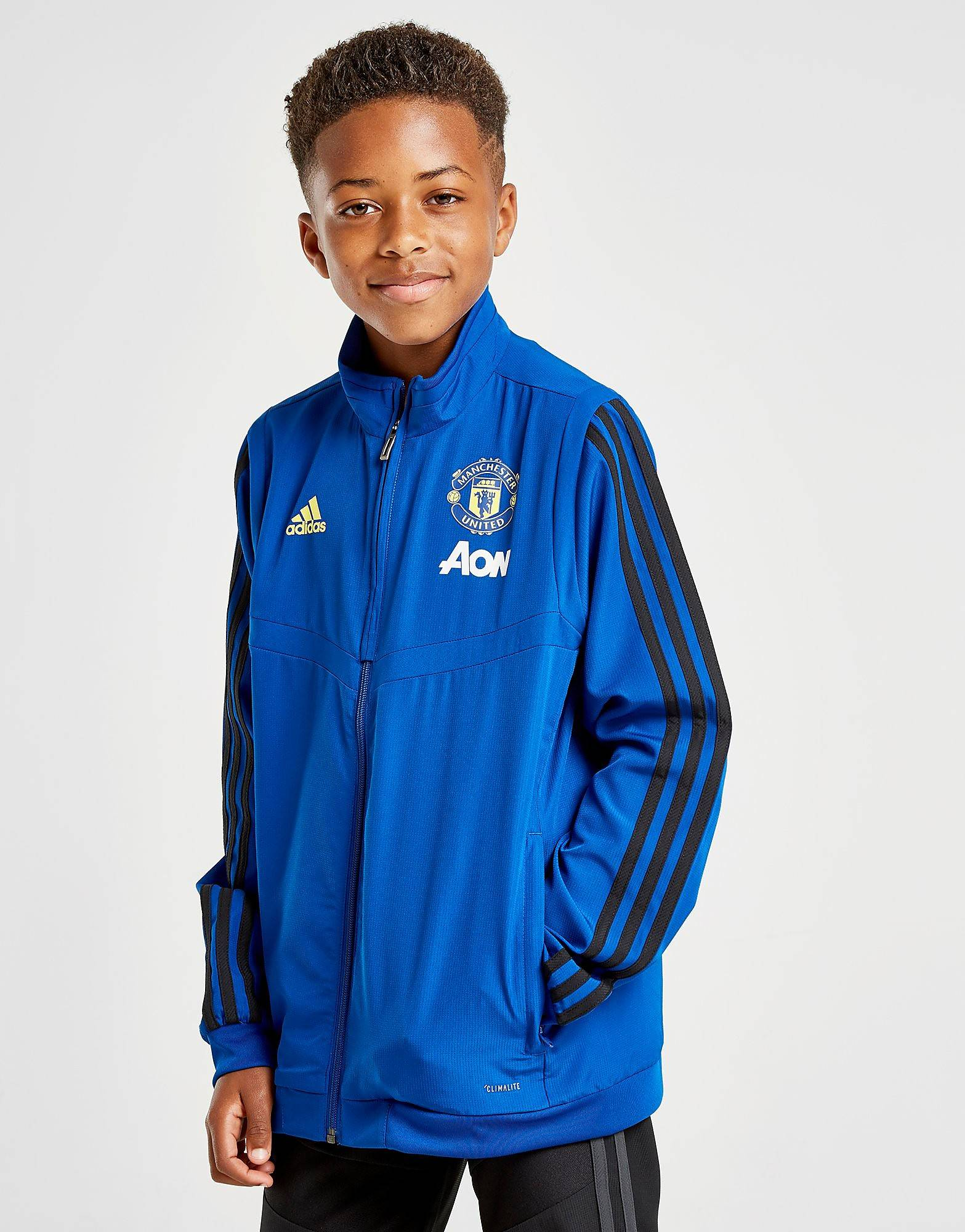 Image of Adidas Manchester United FC Takki Juniorit - Kids, Sininen
