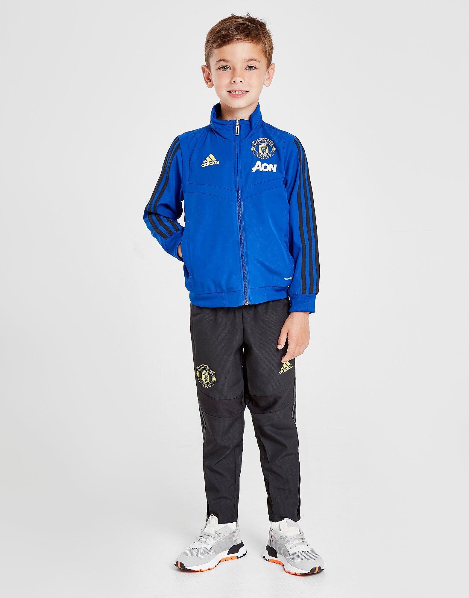 Image of Adidas Manchester United FC Verryttelyasu Lapset - Kids, Sininen
