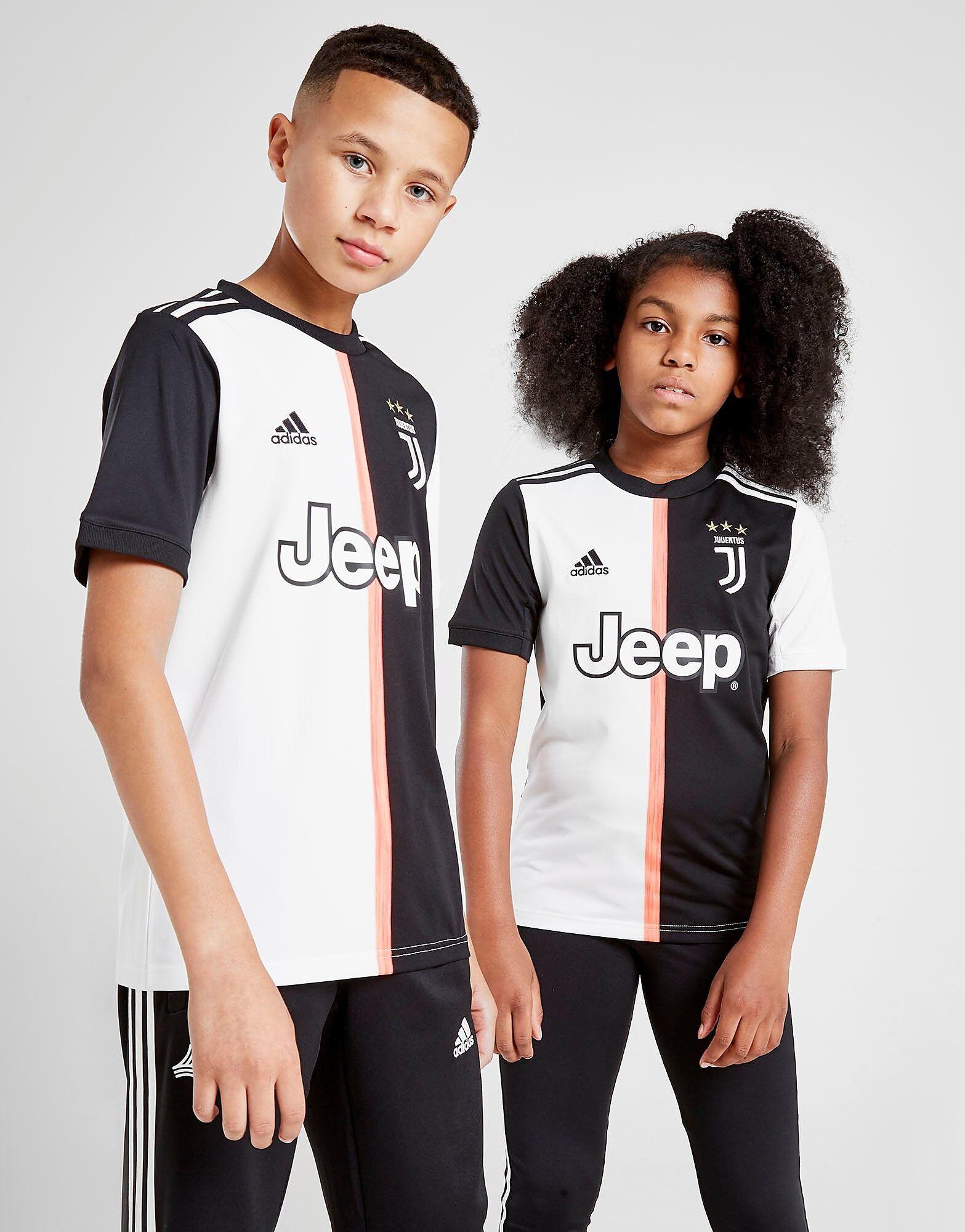 Image of Adidas Juventus FC 19/20 Kotipaita Juniorit - Kids, Musta
