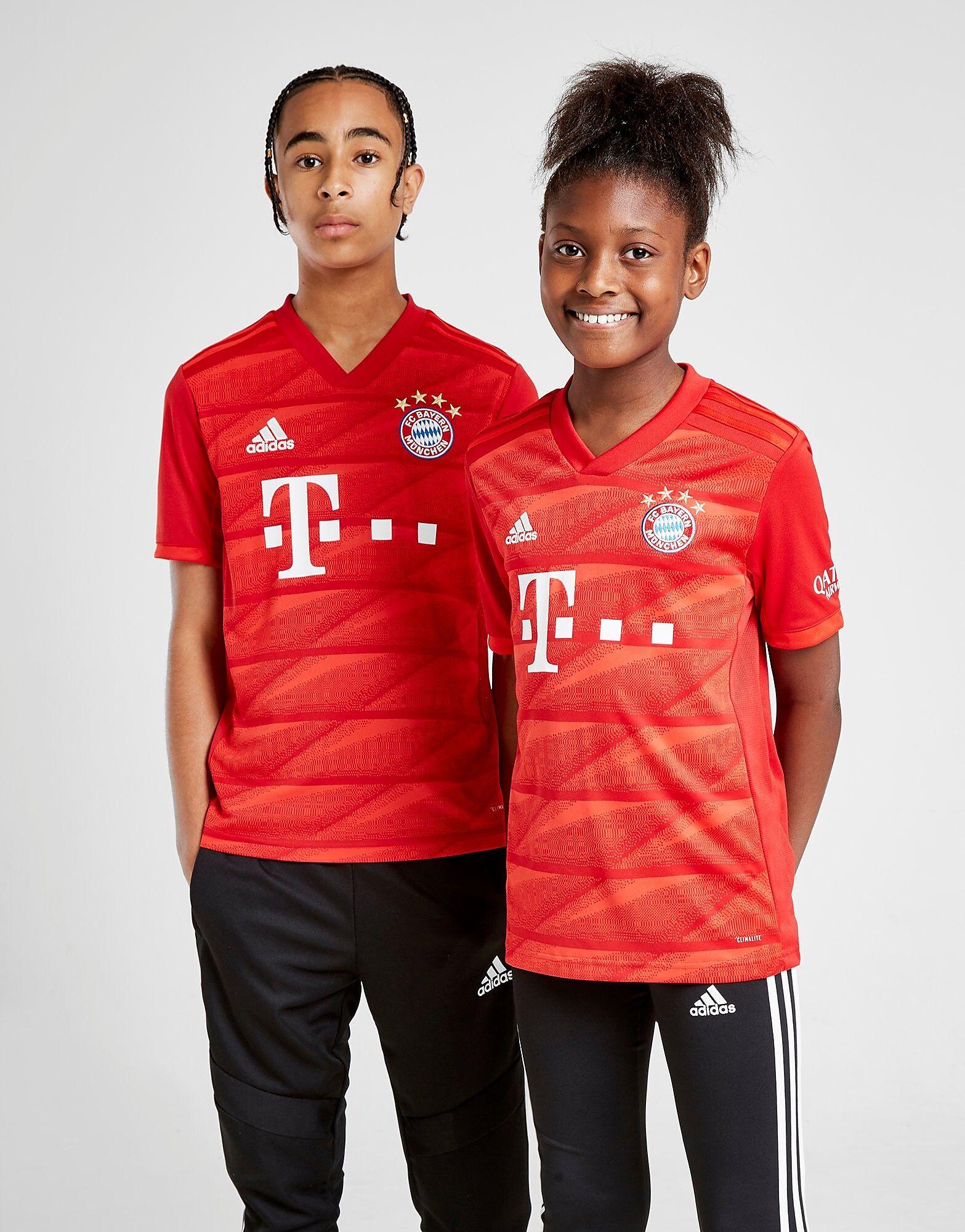 Image of Adidas FC Bayern Munich 19/20 Kotipaita Juniorit - Kids, Punainen