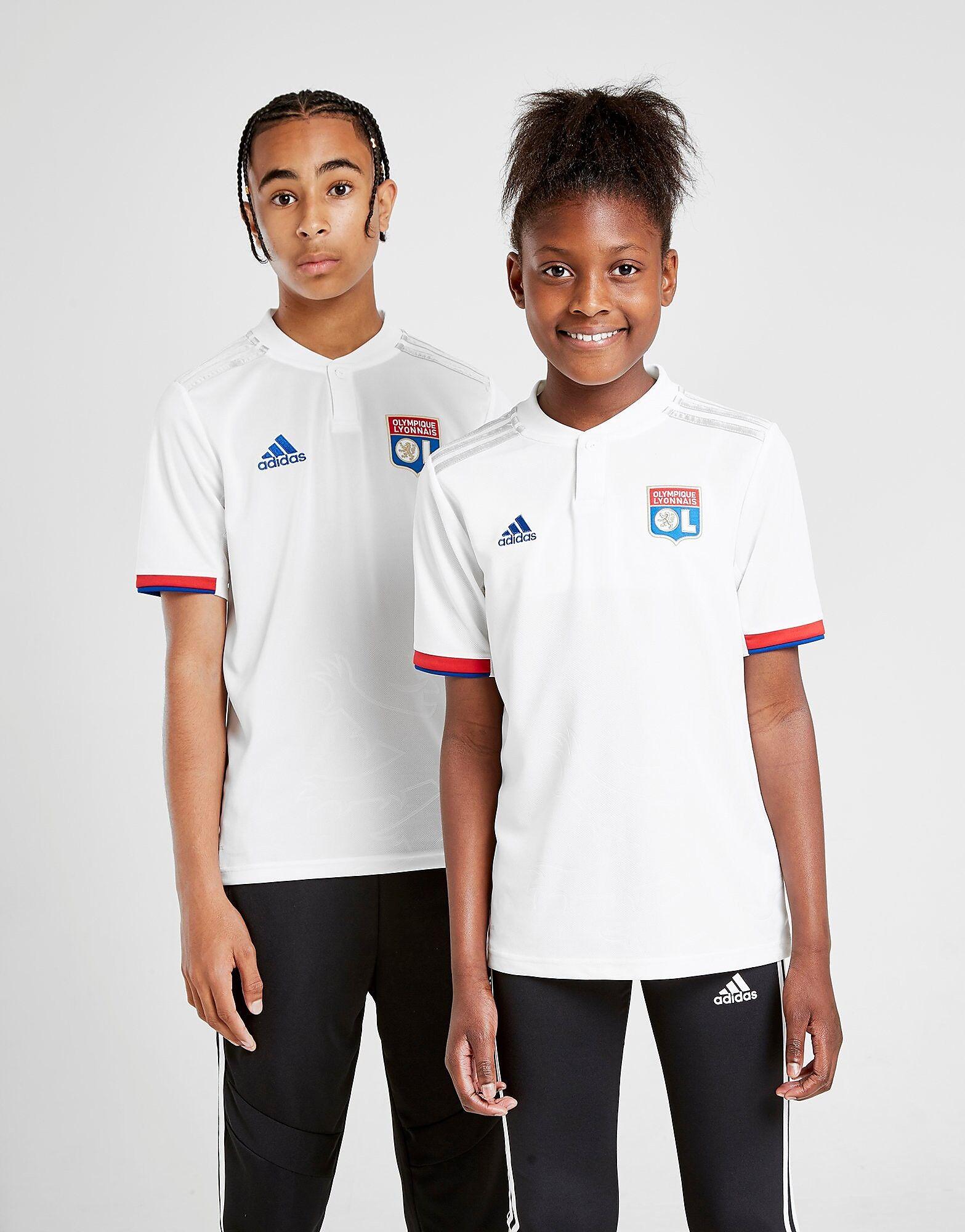 Image of Adidas Olympique Lyon 19/20 Kotipaita Juniorit ENNAKKOTILAUS - Kids, Valkoinen