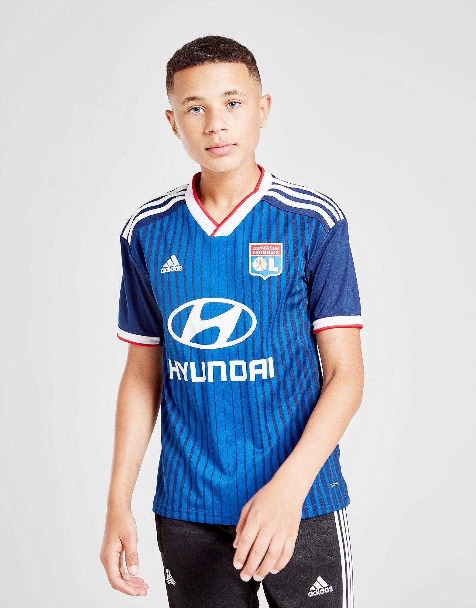 Image of Adidas Olympique Lyon 19/20 Vieraspaita Juniorit - Kids, Sininen