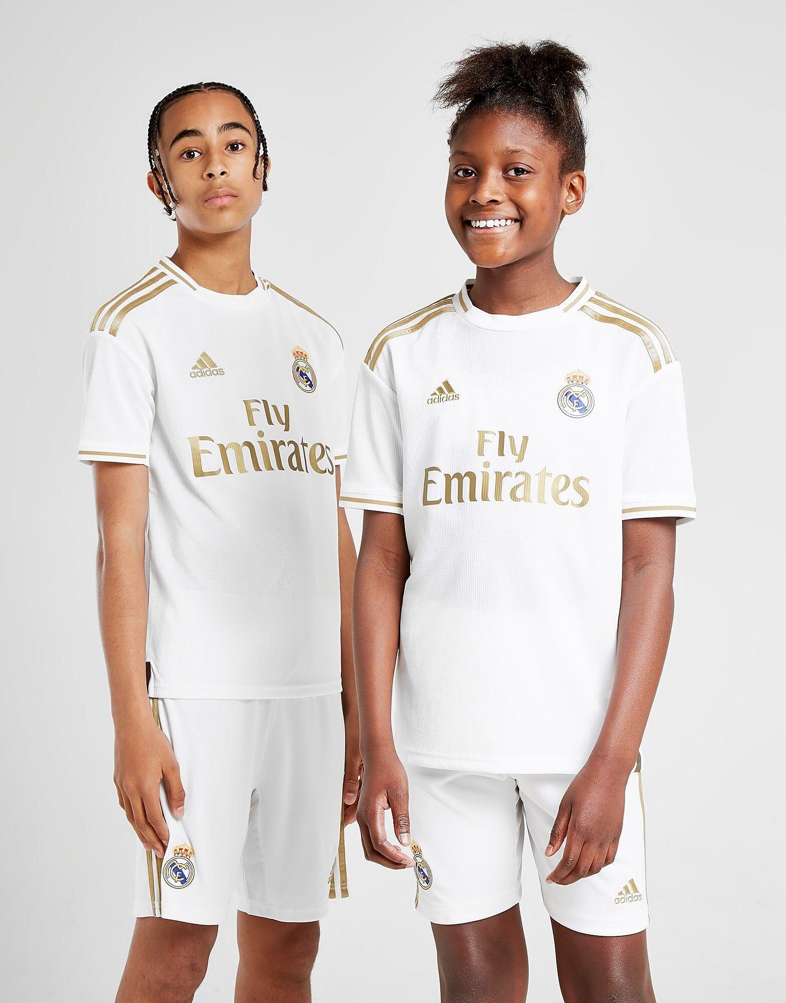 Image of Adidas Real Madrid 2019/20 Kotipaita Juniorit - Kids, Valkoinen