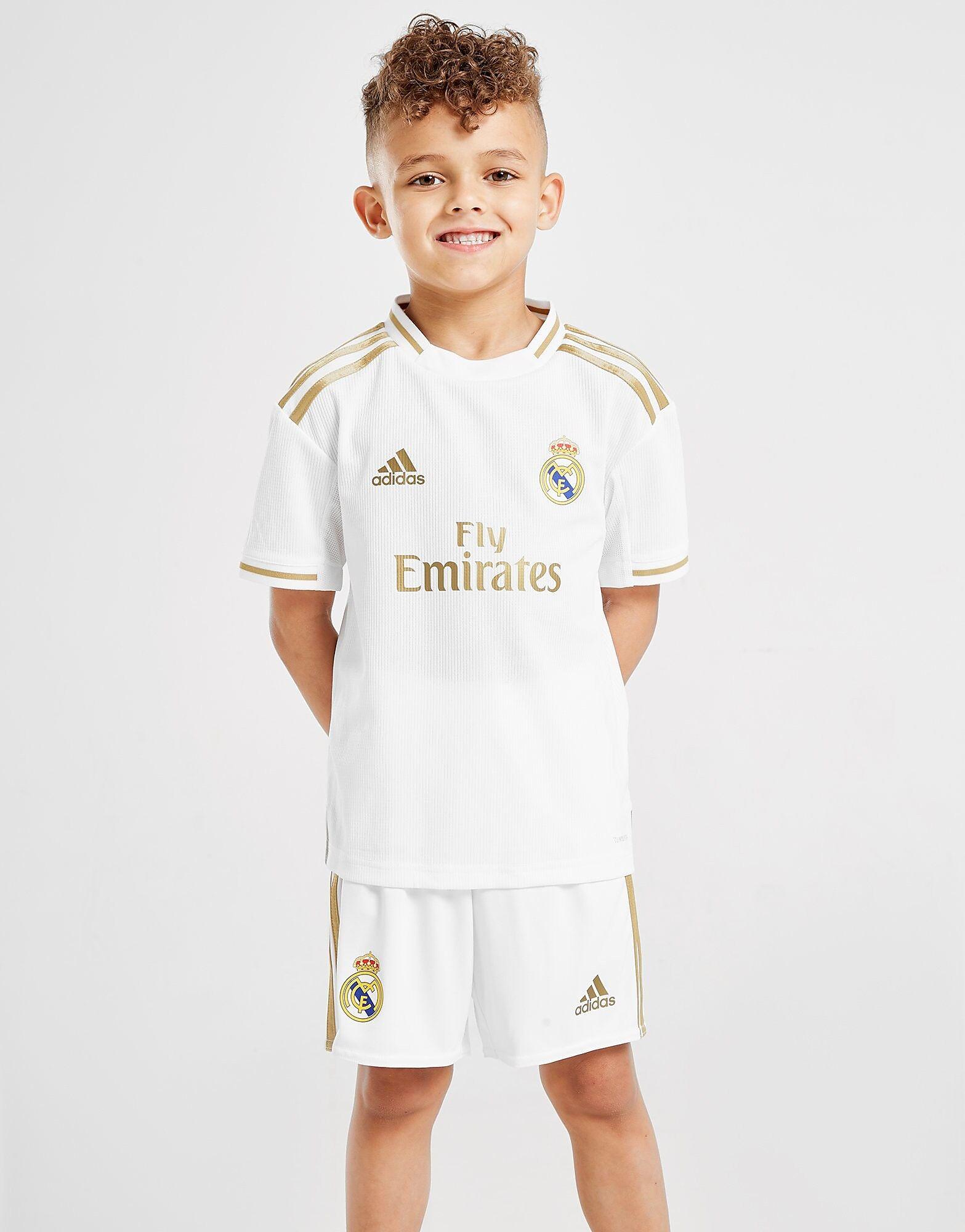Image of Adidas Real Madrid 2019/20 Kotisetti Lapset - Kids, Valkoinen