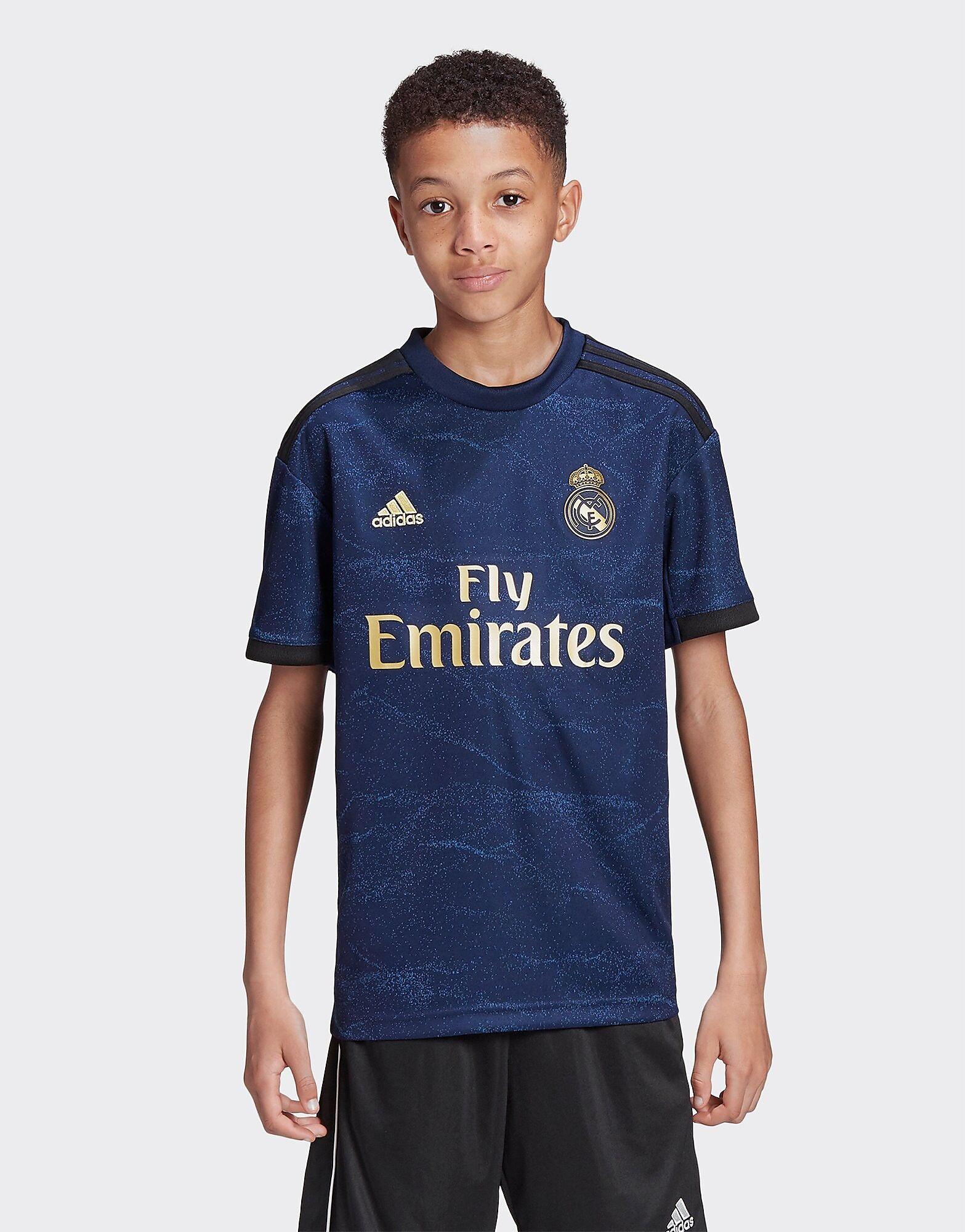 Image of Adidas Real Madrid 2019/20 Vieraspaita Juniorit - Kids, Laivastonsininen