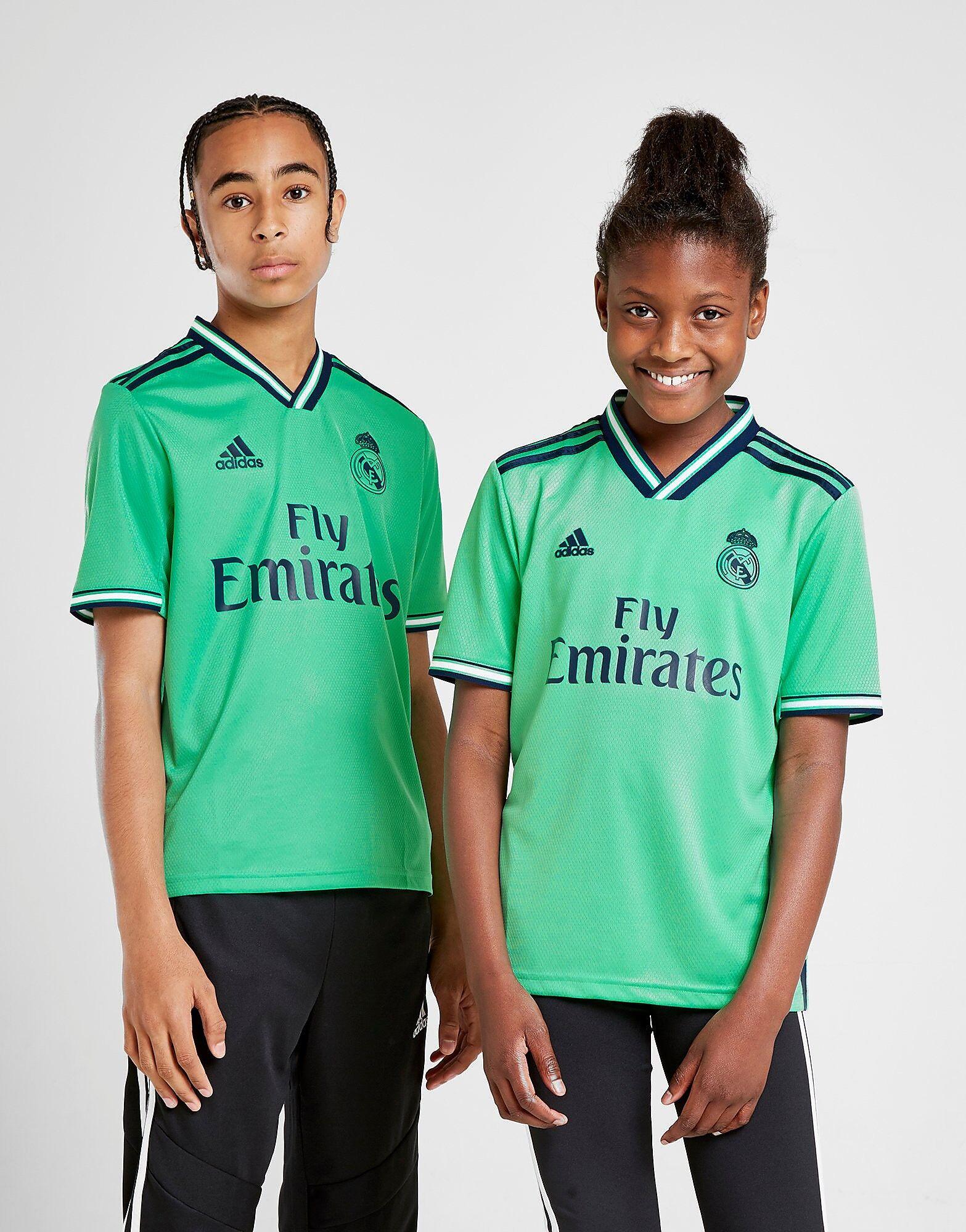 Image of Adidas Real Madrid 2019/20 Kolmas Paita Juniorit - Kids, Vihreä