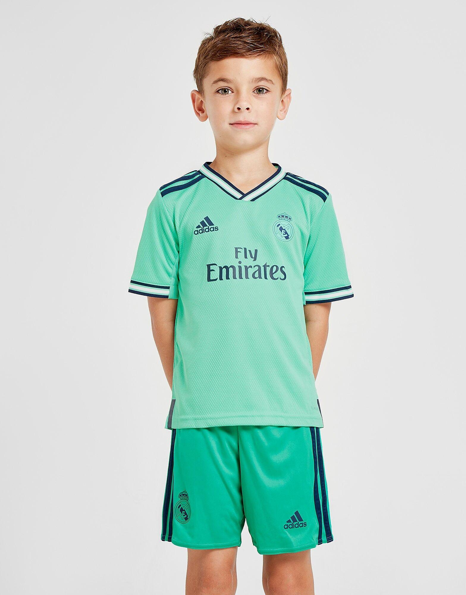 Image of Adidas Real Madrid 2019/20 Kolmas Setti Lapset - Kids, Vihreä