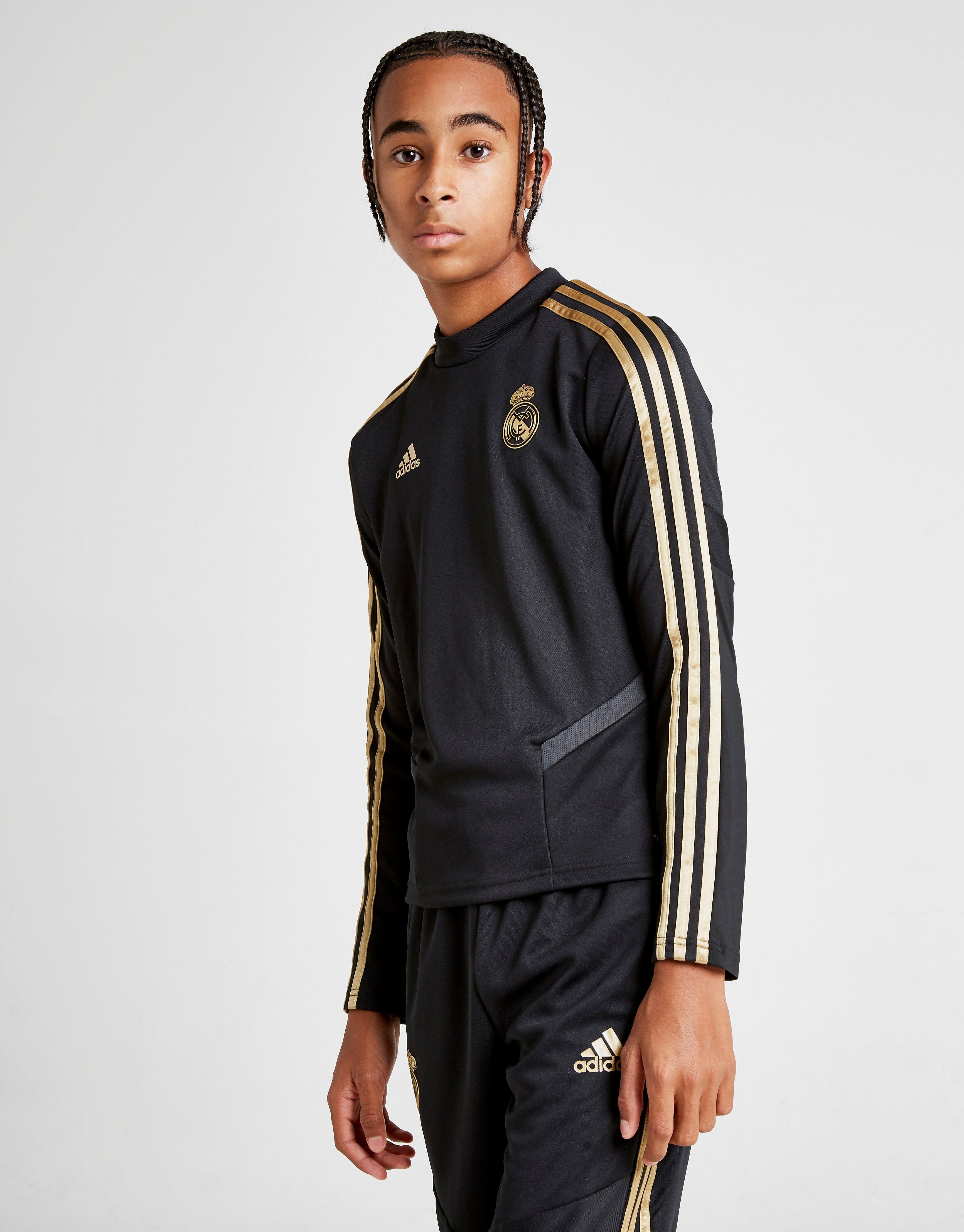 Image of Adidas Real Madrid Treenipaita Juniorit - Kids, Musta