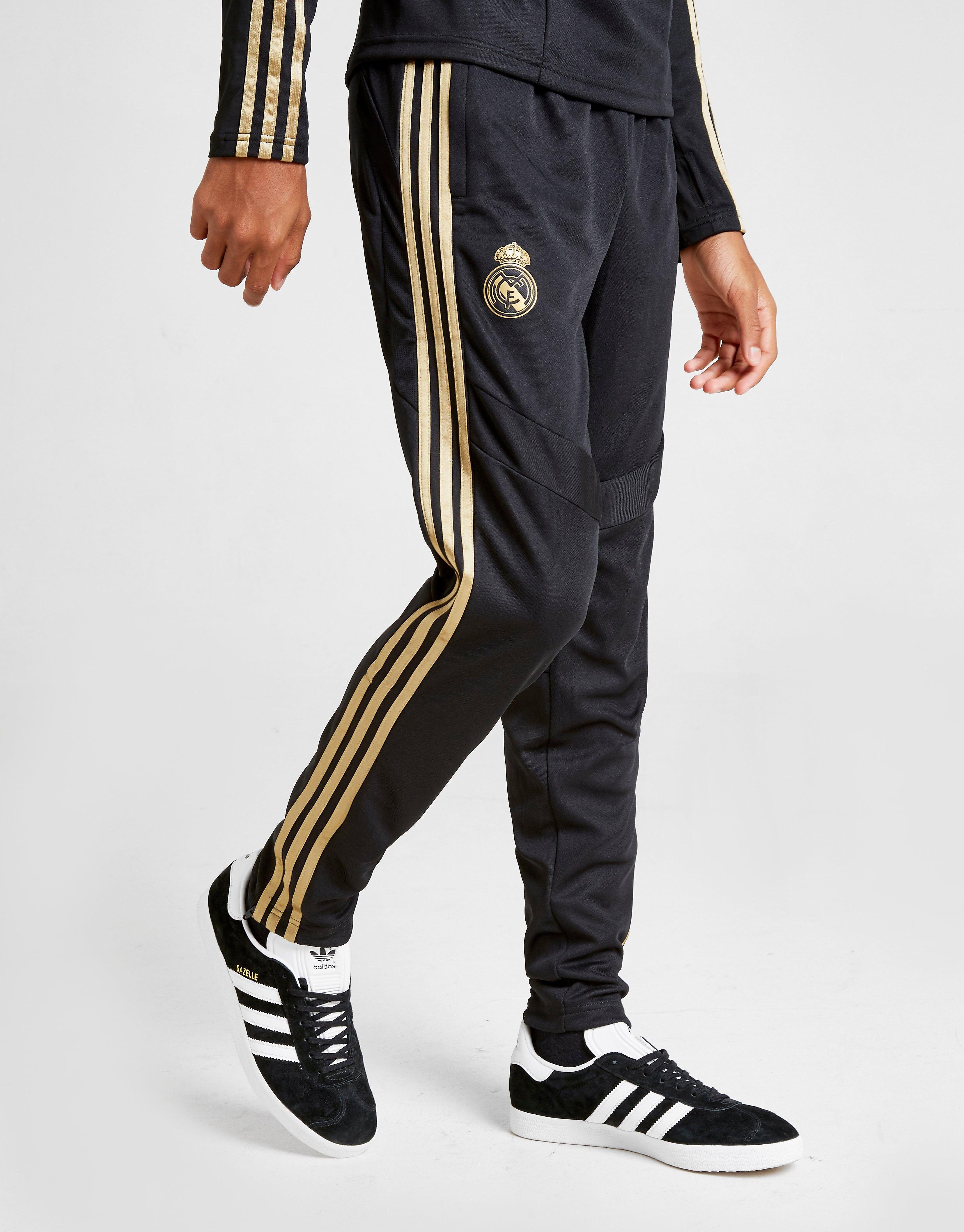 Image of Adidas Real Madrid Treenihousut Juniorit - Kids, Musta