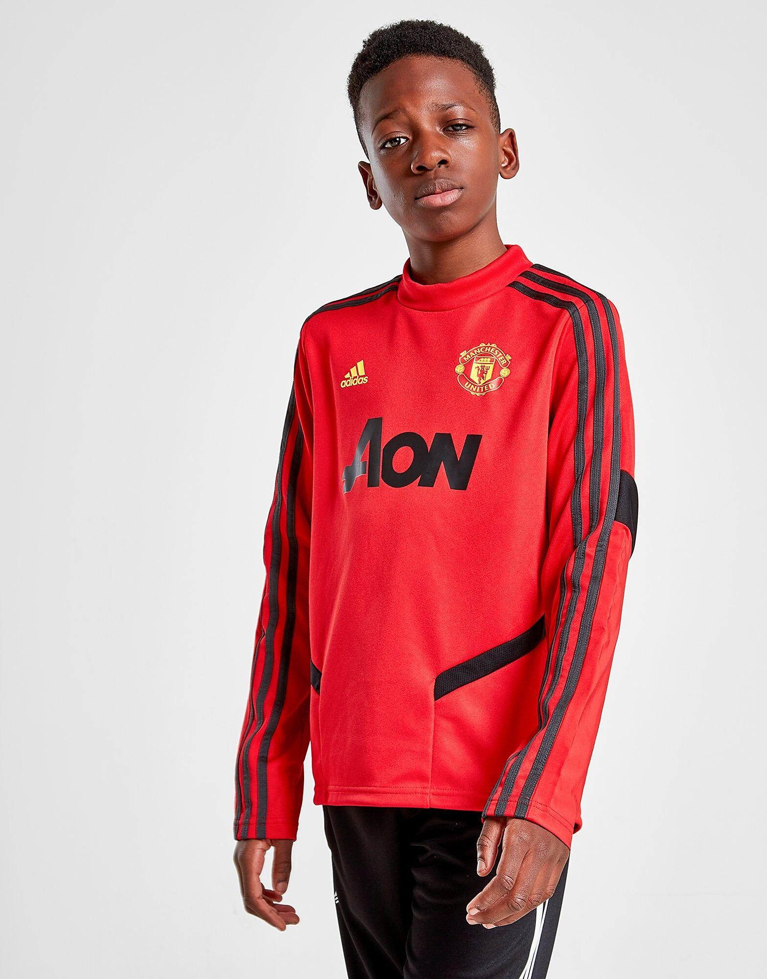 Image of Adidas Manchester United FC Treenipaita Juniorit - Kids, Punainen