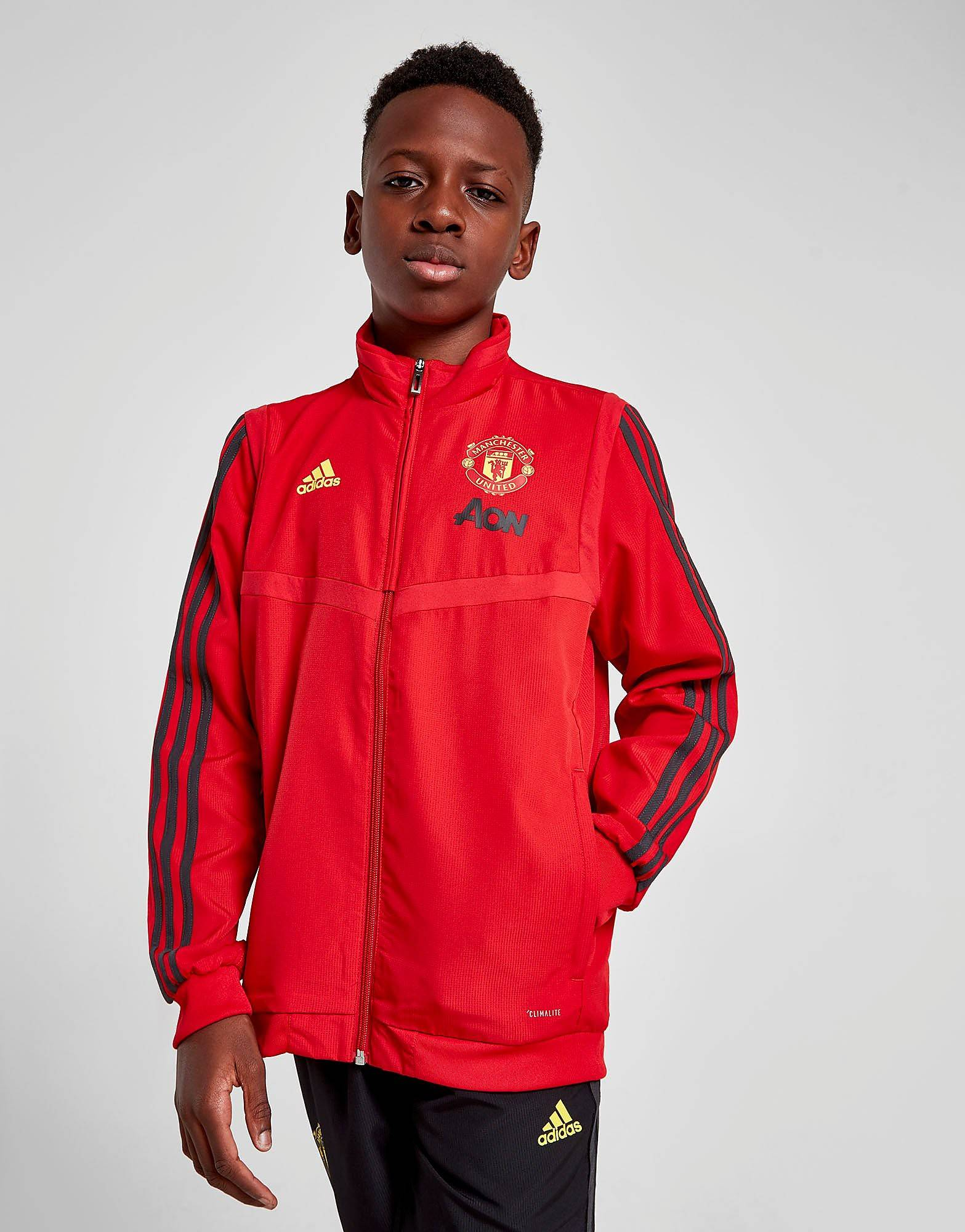 Image of Adidas Manchester United FC Presentation Takki Juniorit - Kids, Punainen
