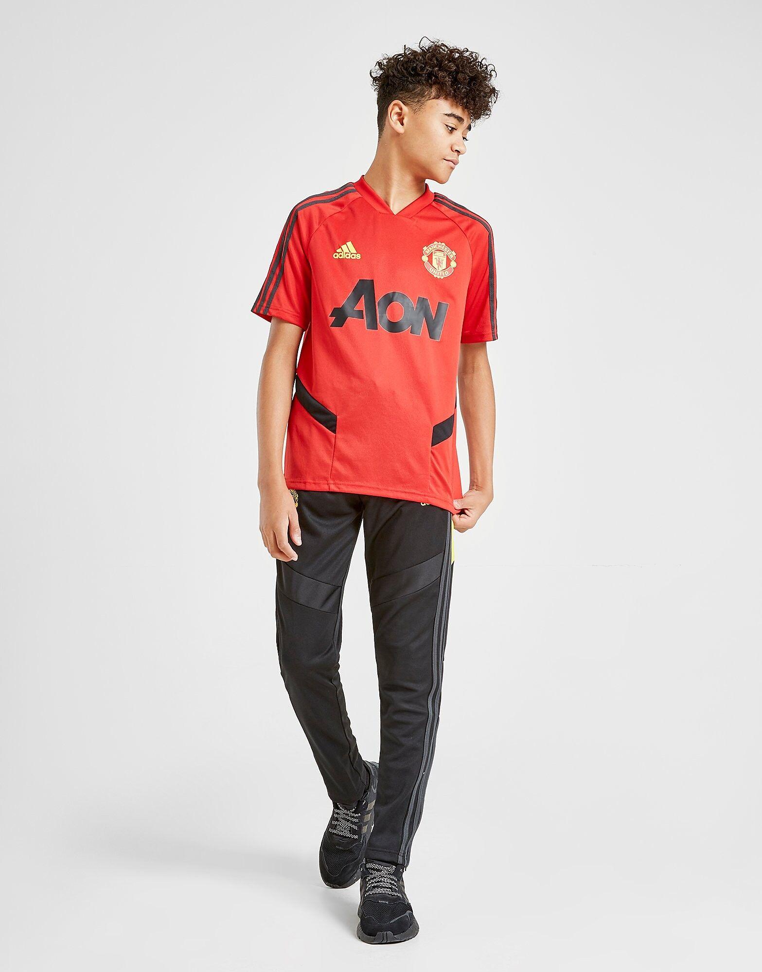 Image of Adidas Manchester United FC -treenipaita Juniorit - Kids, Punainen
