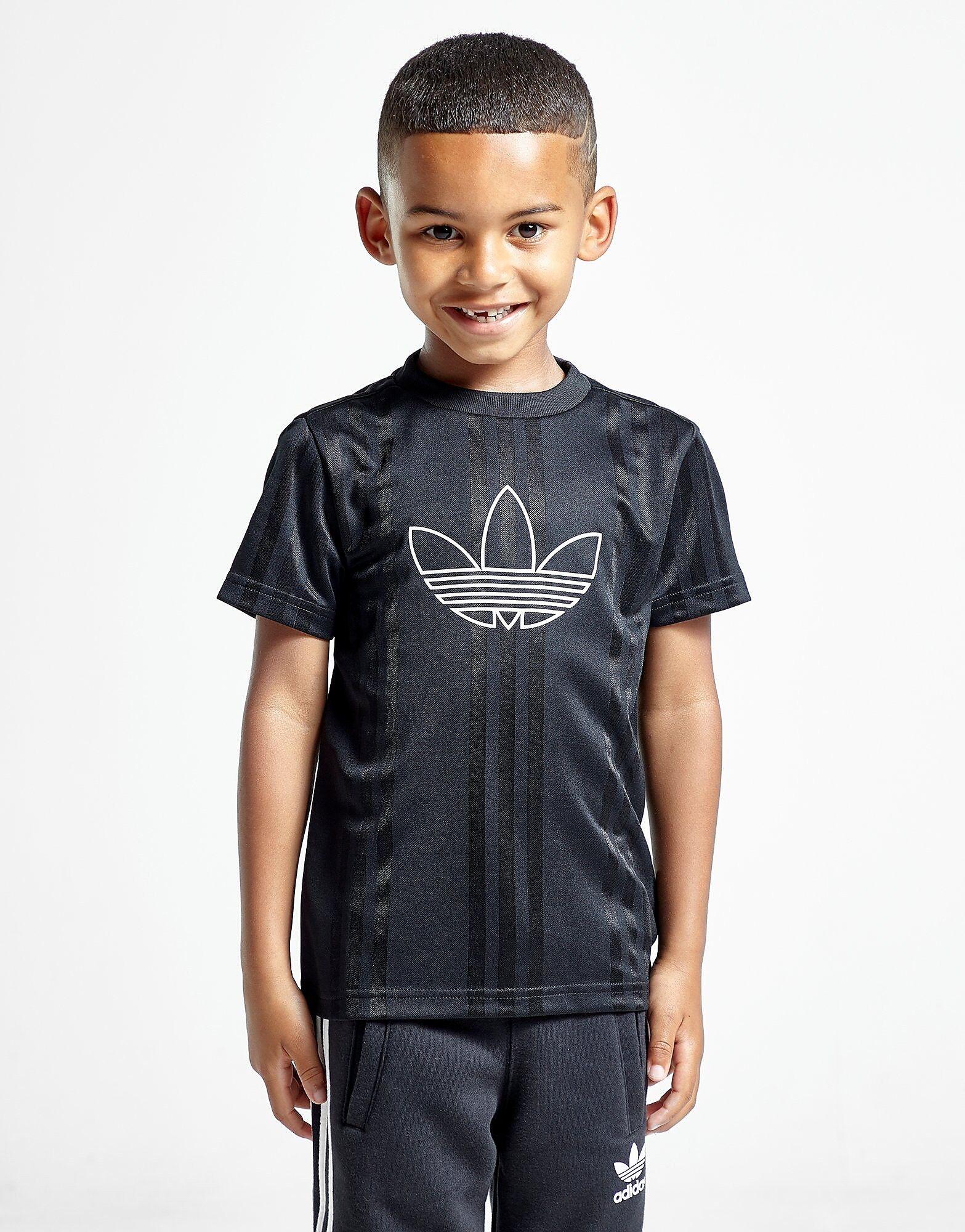 Image of Adidas Originals Spirit Outline T-Paita Lapset - Kids, Musta