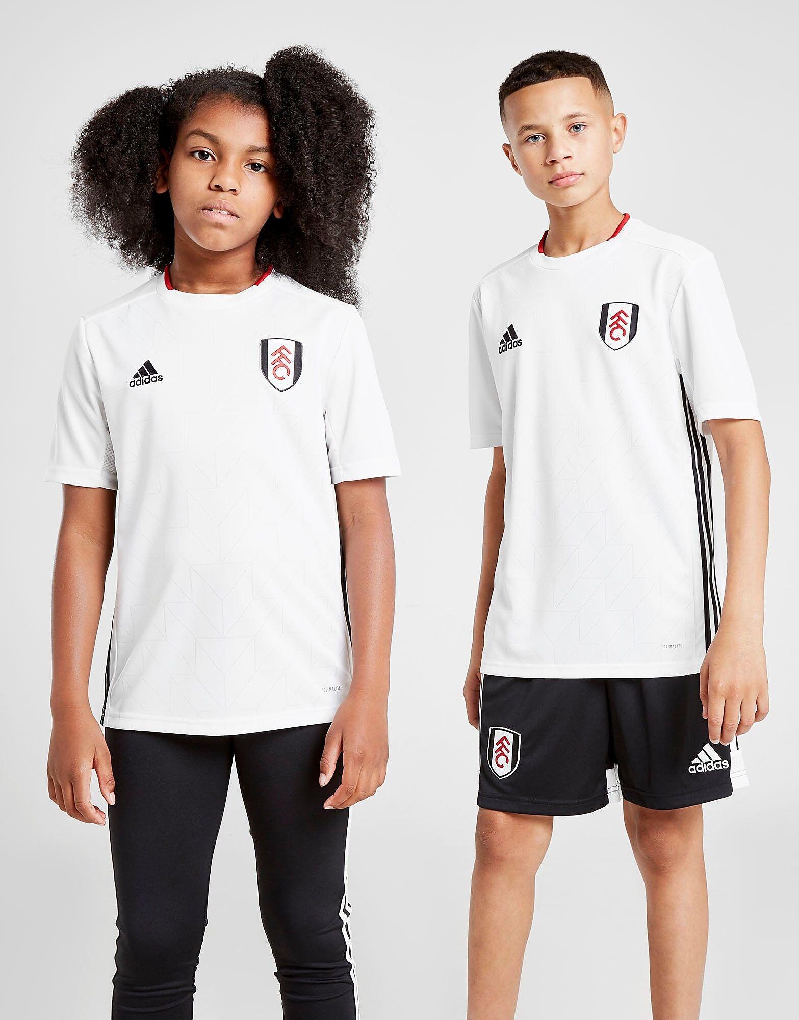 Image of Adidas Fulham FC 2019/20 Kotipaita Juniorit - Kids, Valkoinen