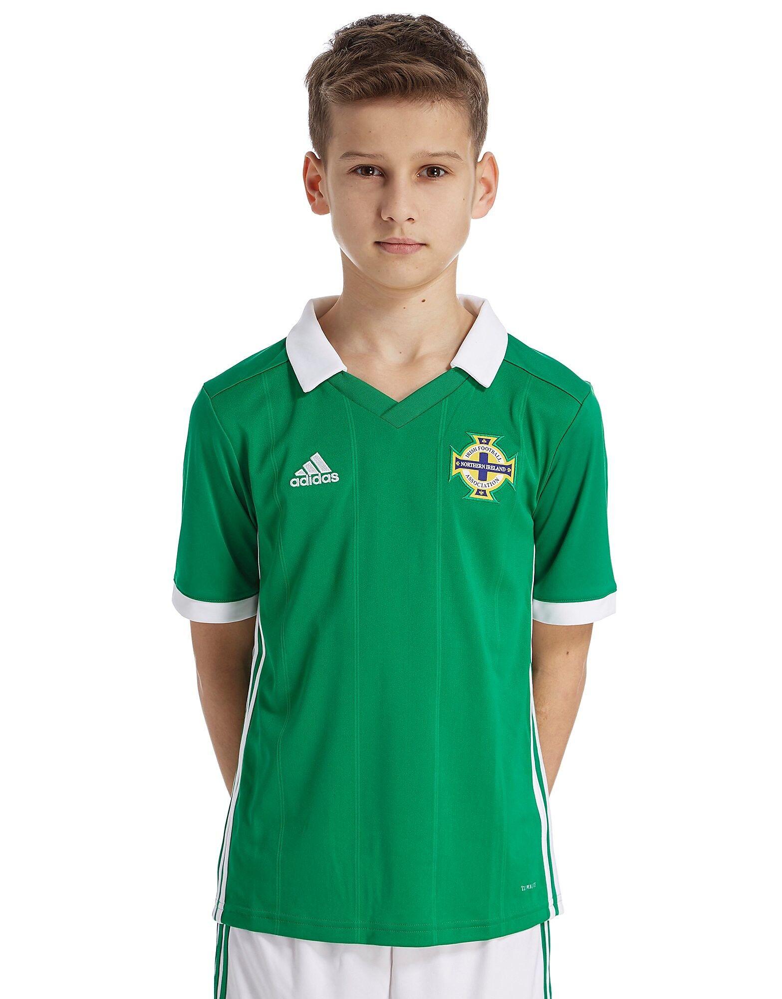 Image of Adidas Northern Ireland 2018/19 Kotipaita Juniorit - Kids, Vihreä
