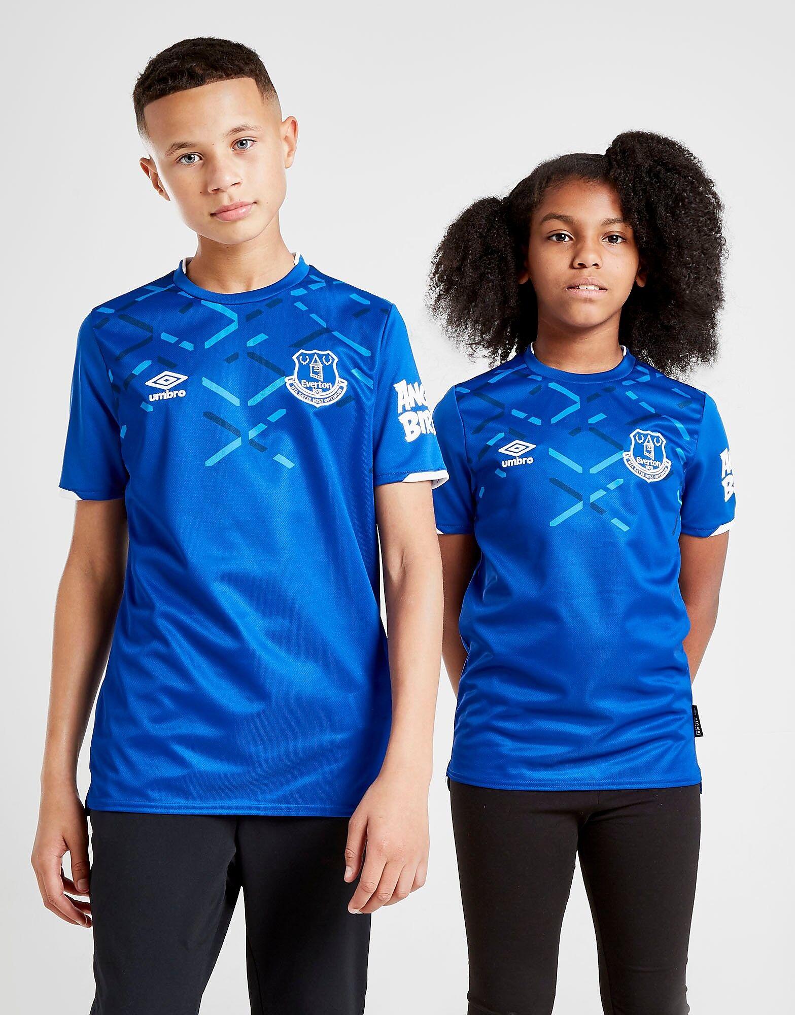 Image of Umbro Everton FC 2019/20 Kotipaita Juniorit ENNAKKOTILAUS - Kids, Sininen