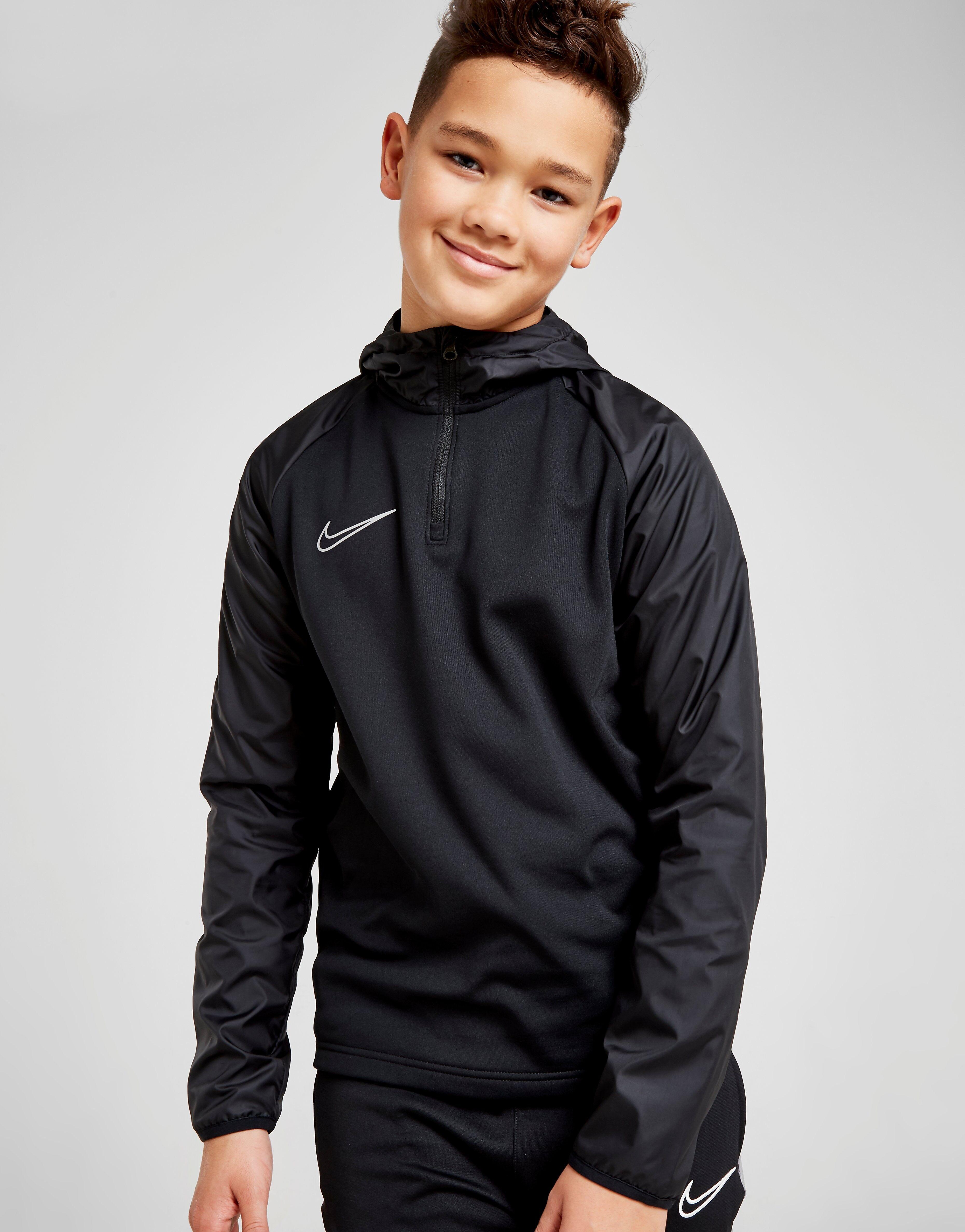 Image of Nike Academy Repel Hoodie Junior - Kids, Musta