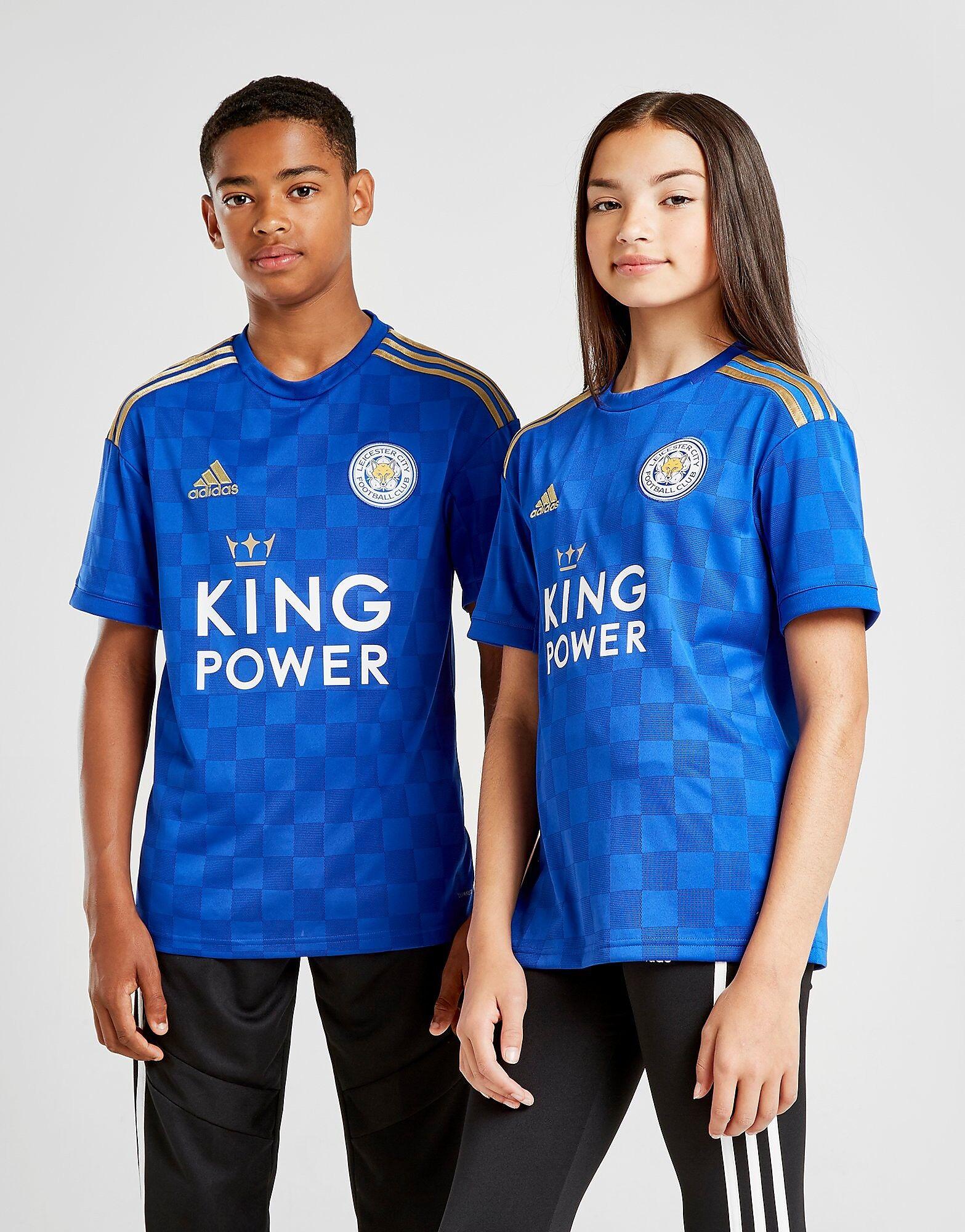 Image of Adidas Leicester City FC 19/20 Kotipaita Juniorit - Kids, Sininen