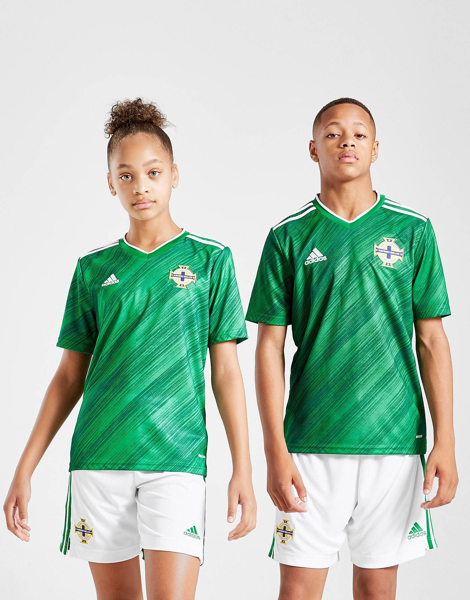Image of Adidas Northern Ireland 2020 Kotipaita Juniorit - Kids, Vihreä