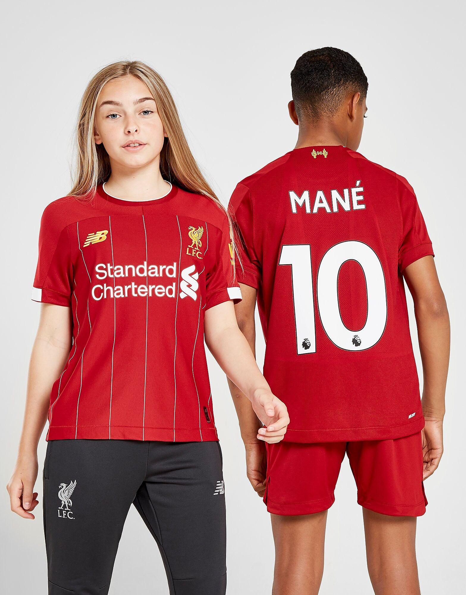 Image of New Balance Liverpool FC 2019/20 Mane #10 Home Shirt Junior - Kids, Punainen