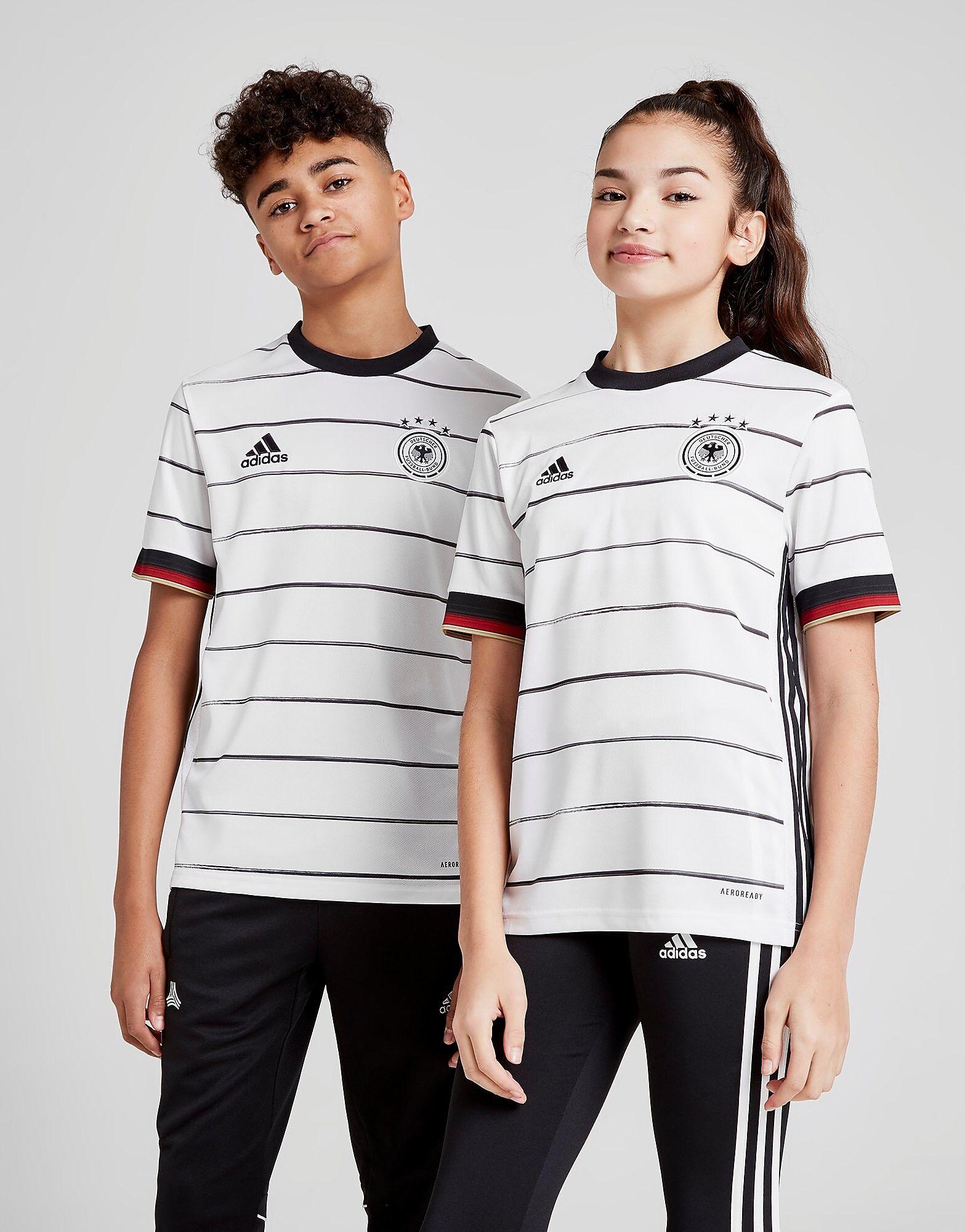 Image of Adidas Germany 2020 Kotipaita Juniorit - Kids, Valkoinen