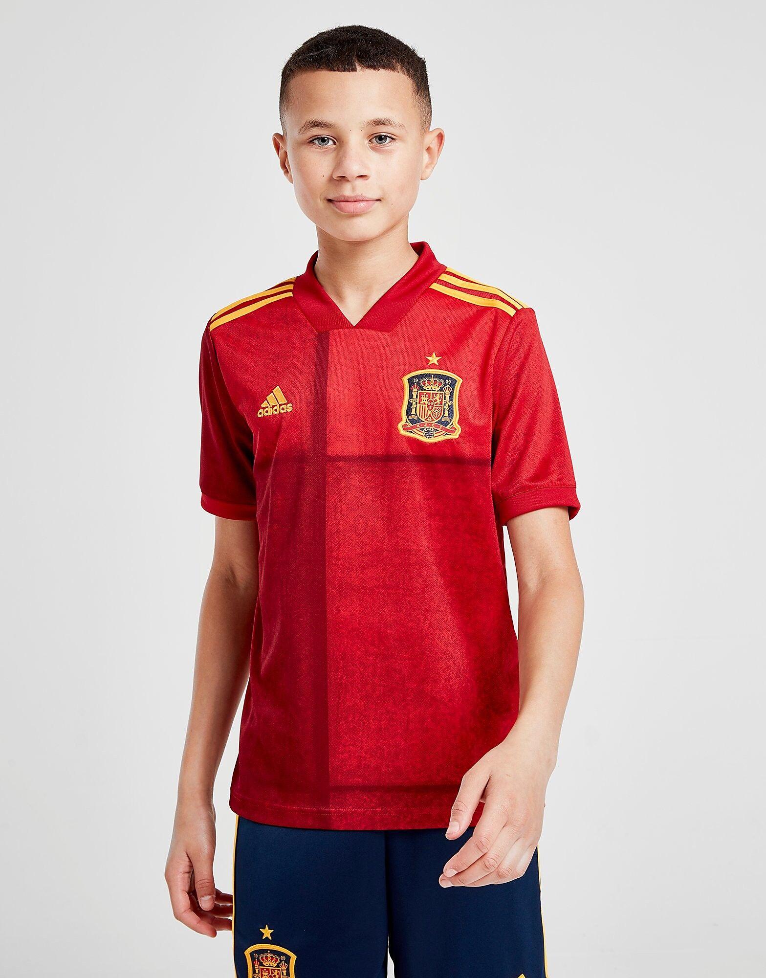 Image of Adidas Spain 2020 Kotipaita Juniorit - Kids, Punainen