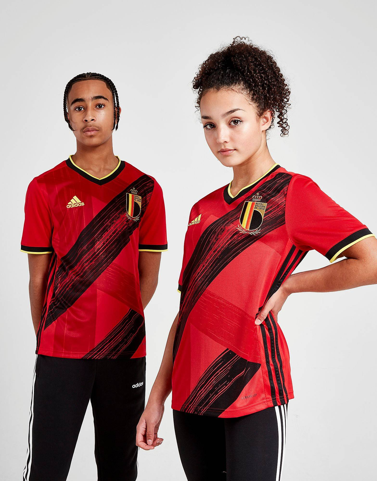 Image of Adidas Belgium 2020 Kotipaita Juniorit - Kids, Punainen
