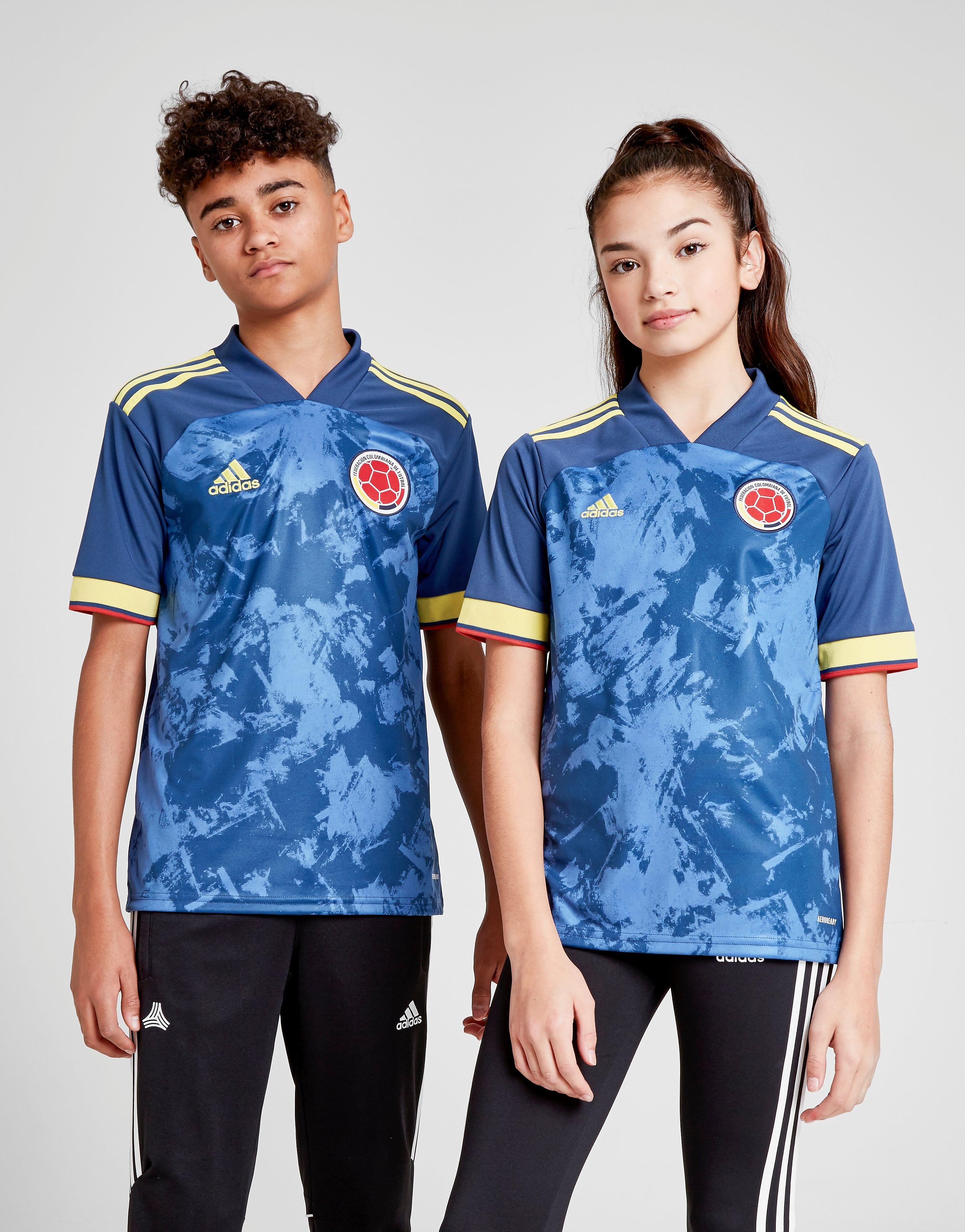 Image of Adidas Colombia 2020 Vieraspaita Juniorit - Kids, Sininen
