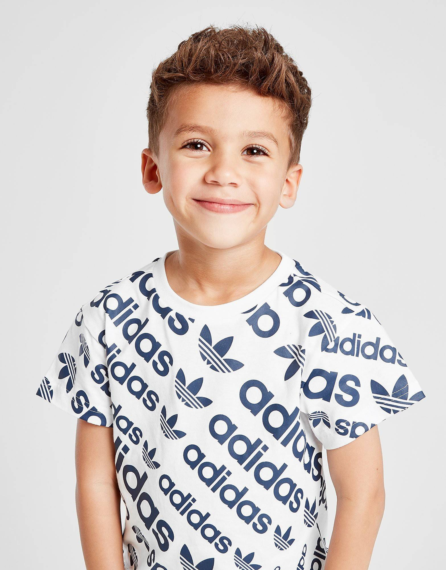 Image of Adidas Originals T-paita Lapset - Only at JD - Kids, Valkoinen