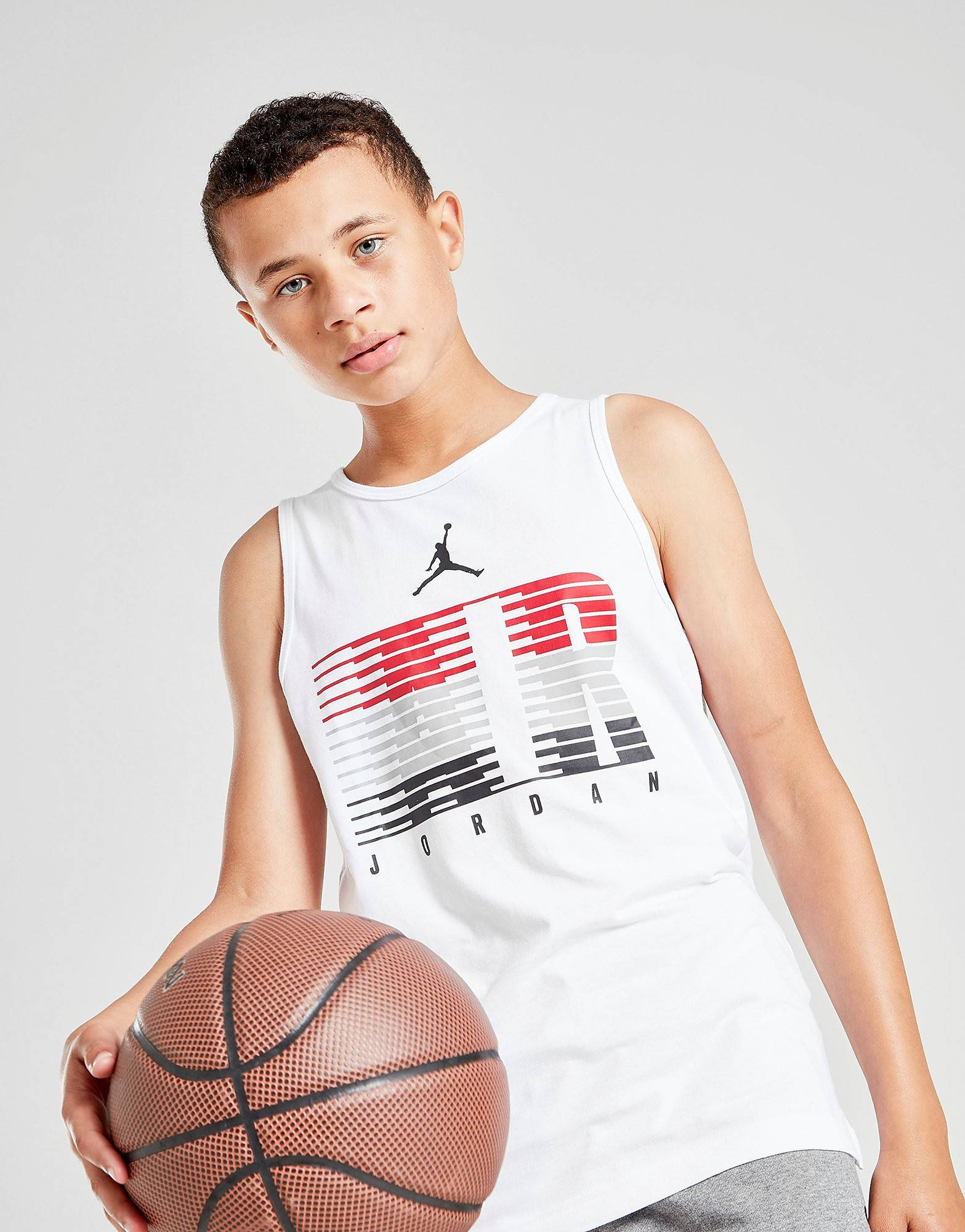 Jordan Brand Graphic Tank Top Junior - Kids, Valkoinen