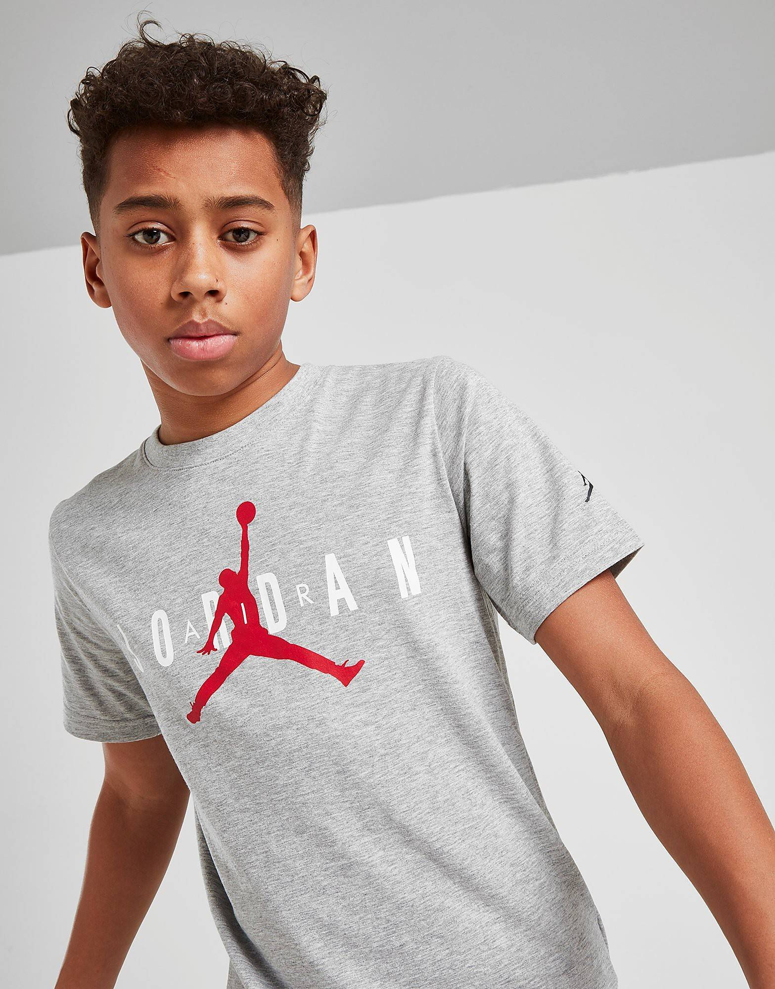 Jordan Brand 5 T-paita Juniorit - Kids, Harmaa