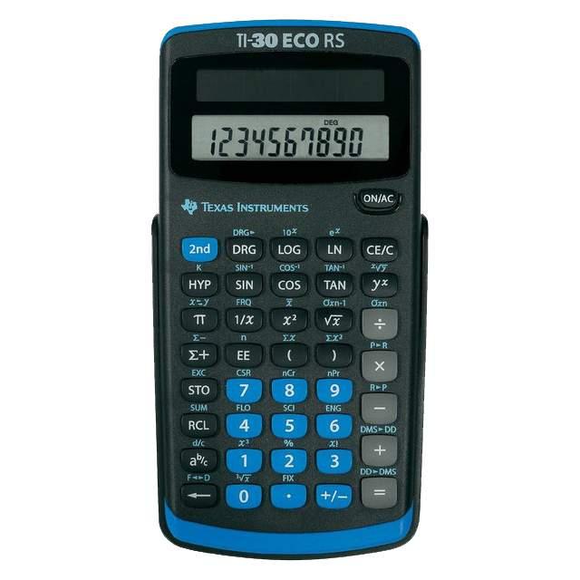 Texas Instruments TI-30 eco RS -tieteislaskin