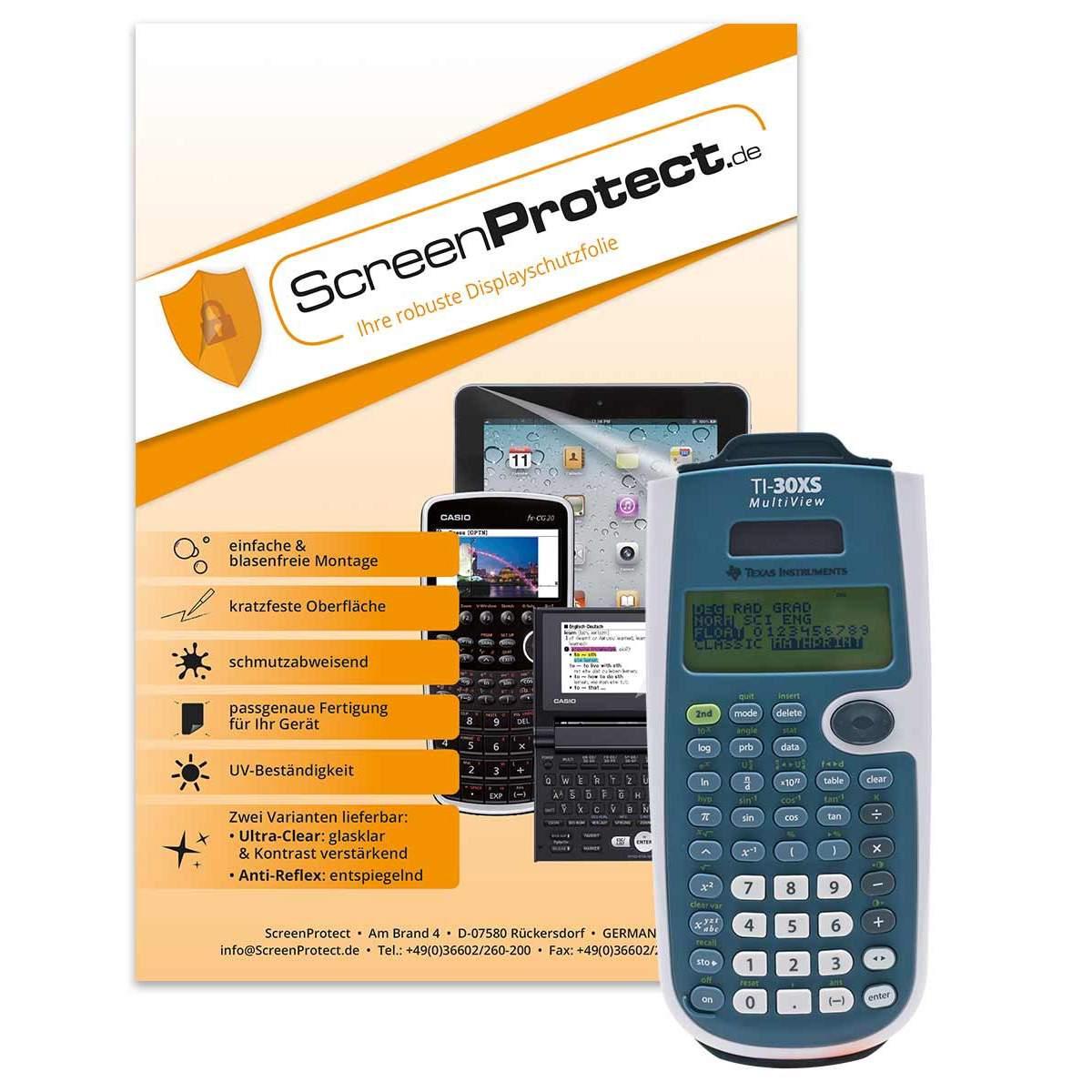 ScreenProtect UltraClear TI 30XS MW / TI-30X Pro näytönsuoja