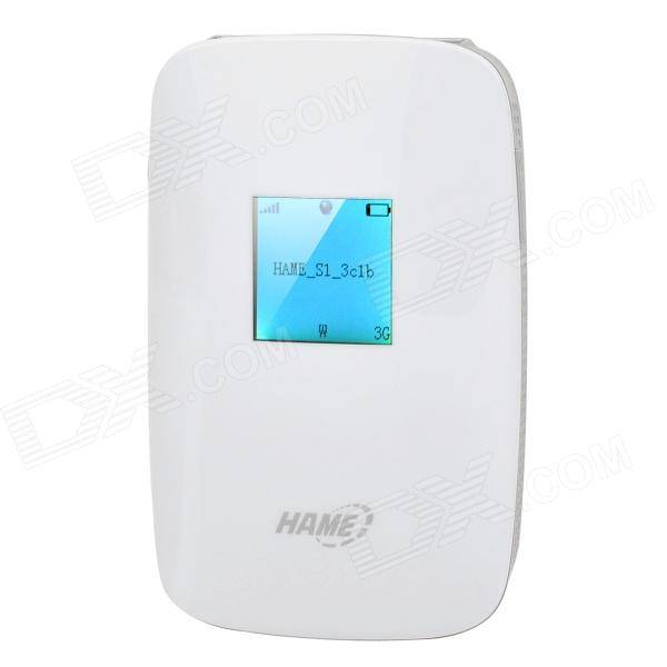 HAME S1 5150Mbps 3G Wireless Router + 5200mAh Mobile Power + Wireless Storage