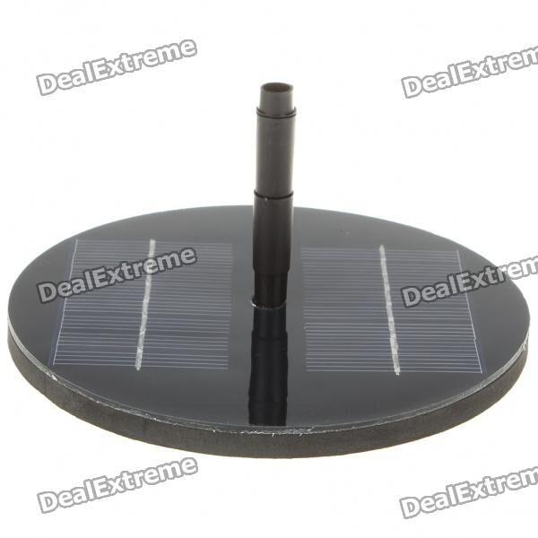Solar Powered Brushless Water Pump - Black